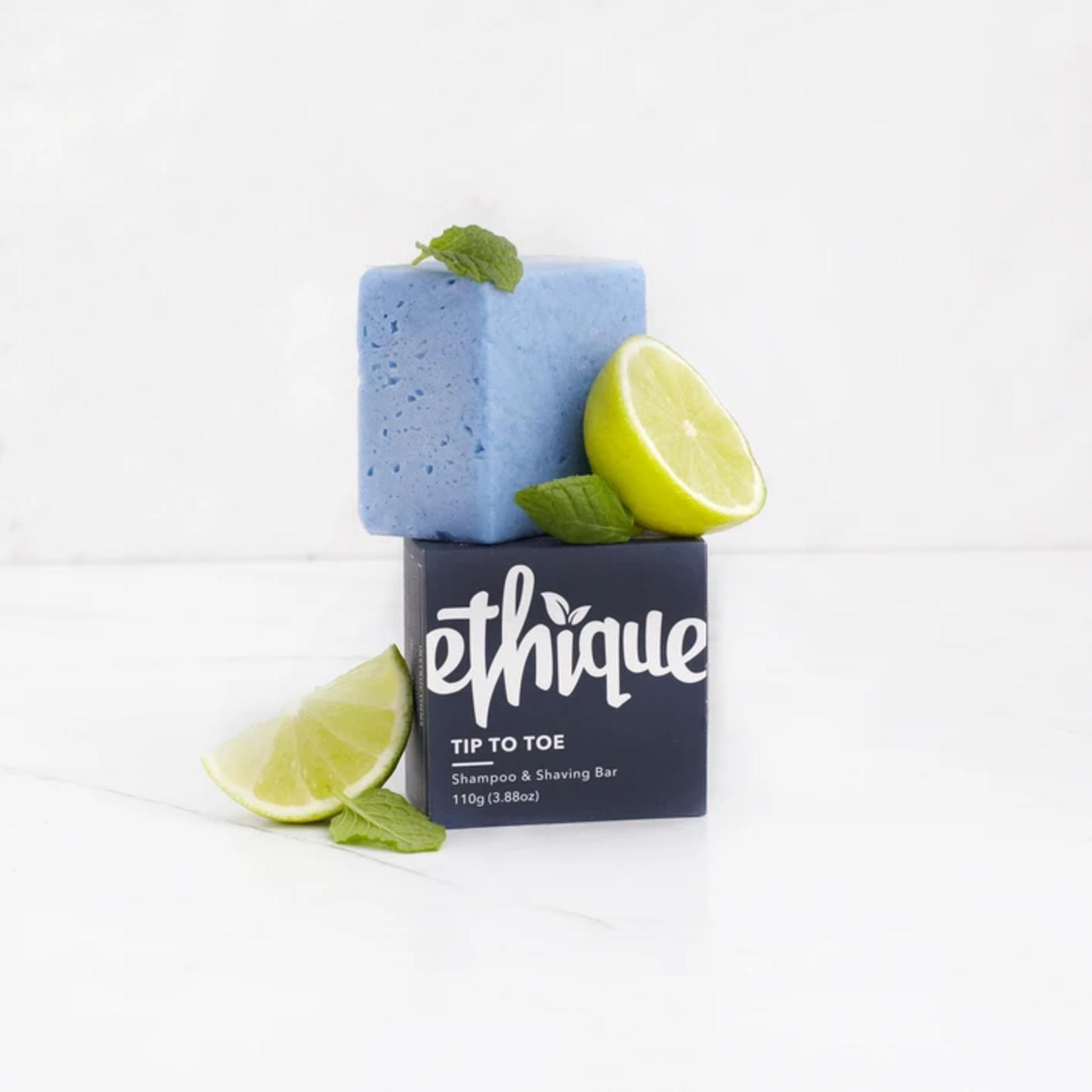 Ethique Ethique Solid Shampoo & Shaving Bar Tip-to-Toe
