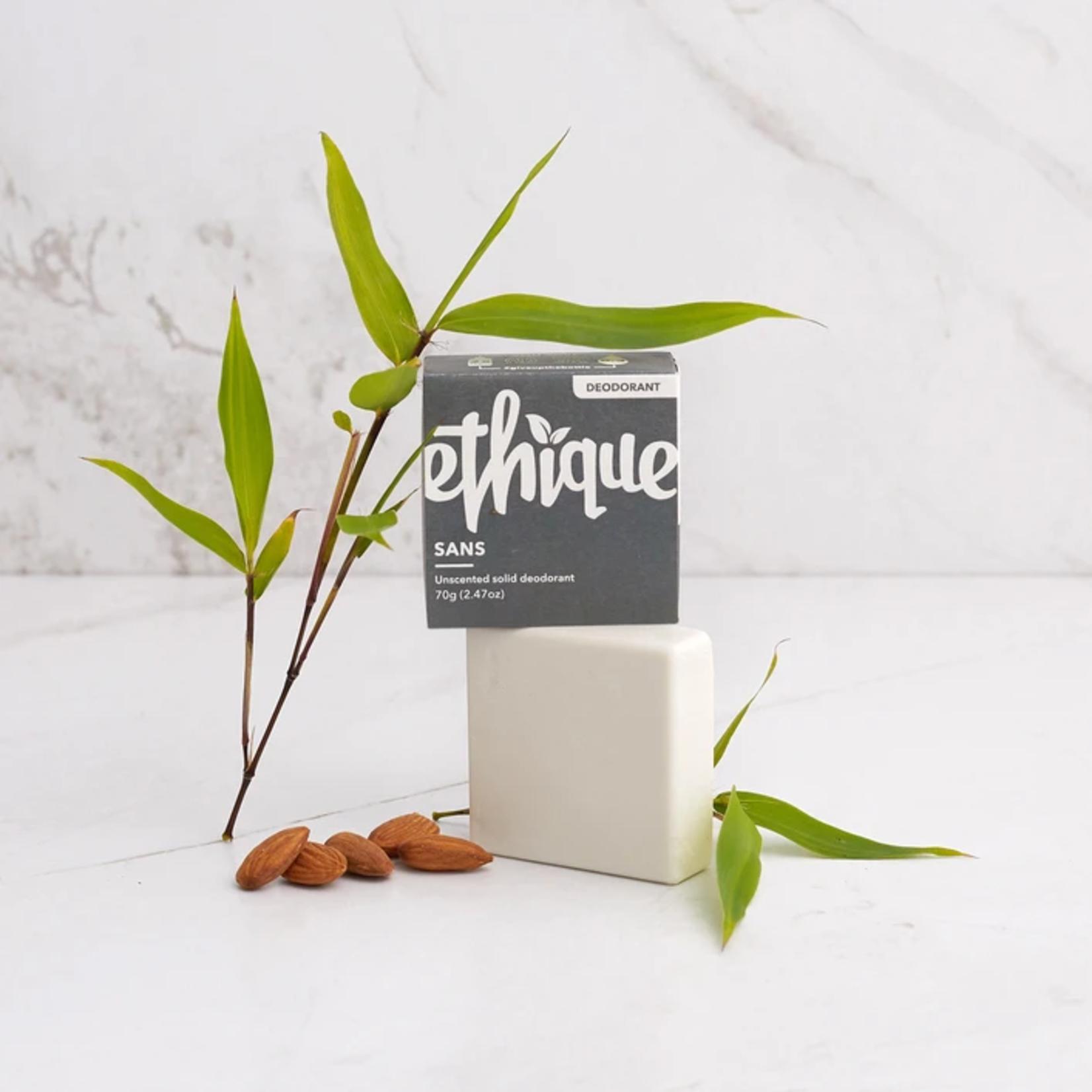 Ethique Ethique Solid Deodorant Bar Sans - Unscented