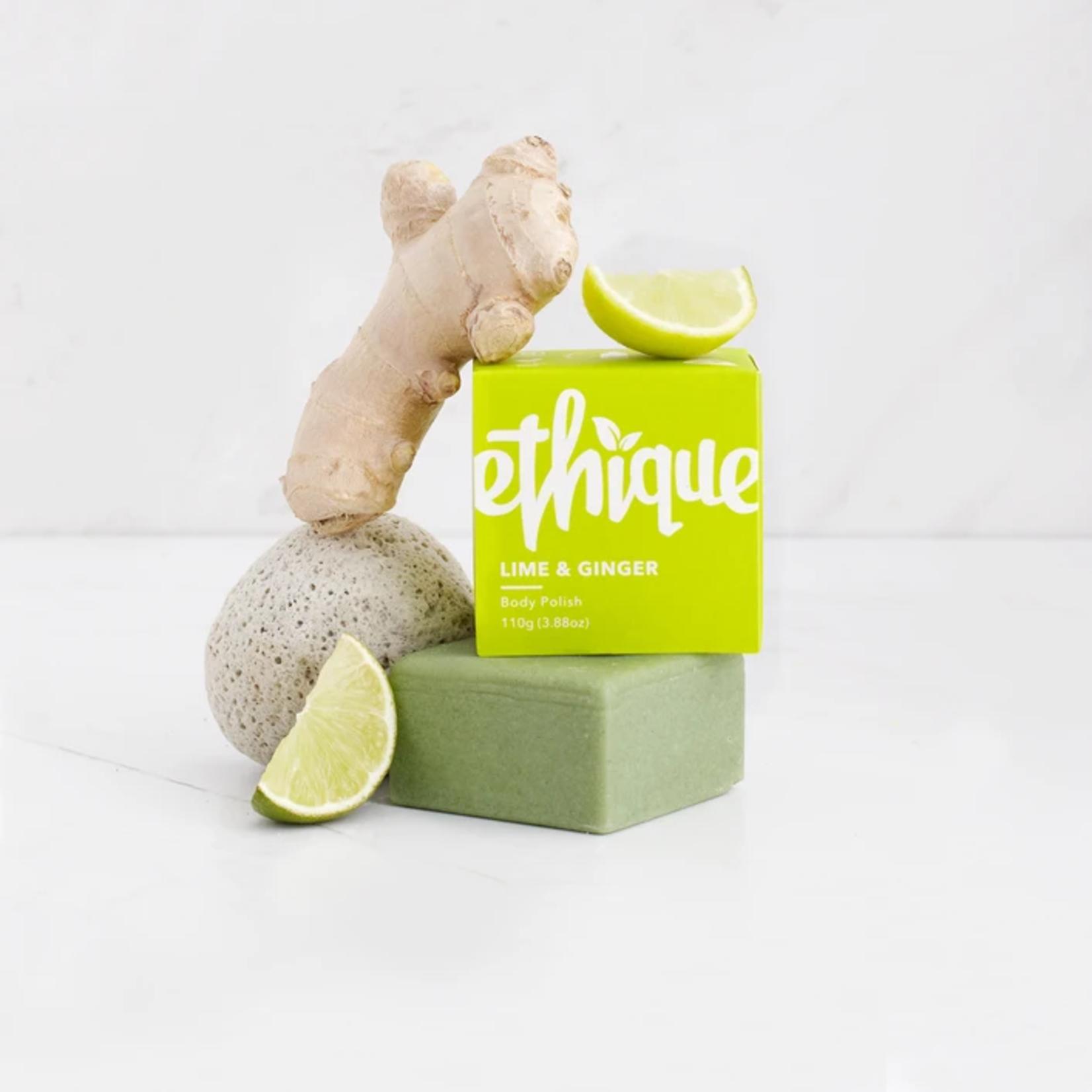 Ethique Ethique Solid Body Polish Bar Lime & Ginger