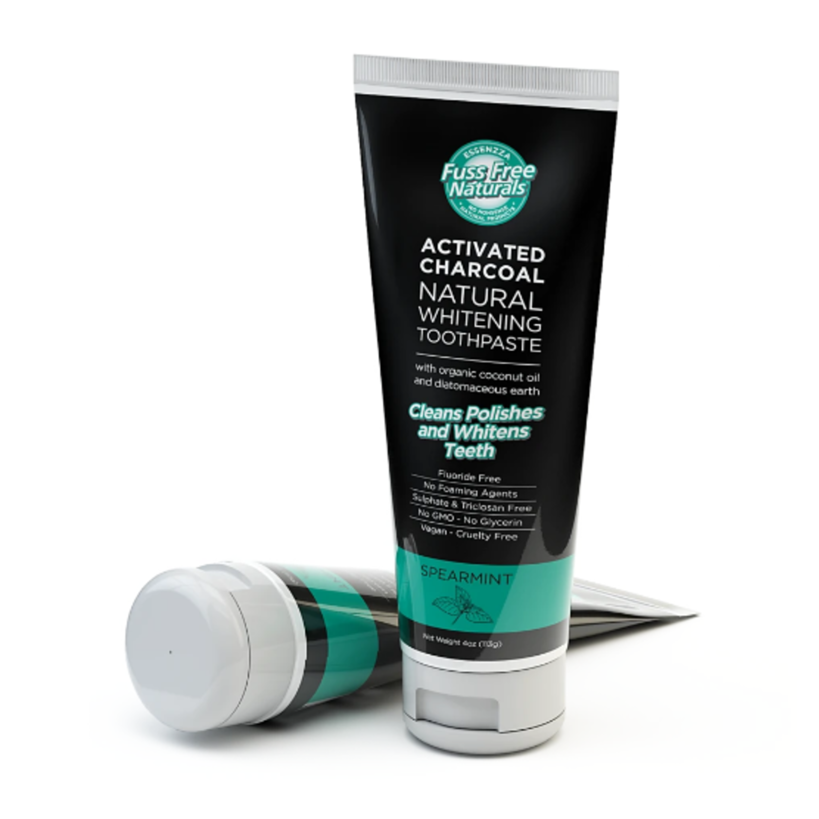 Fuss Free Naturals Fuss Free Naturals Charcoal Toothpaste