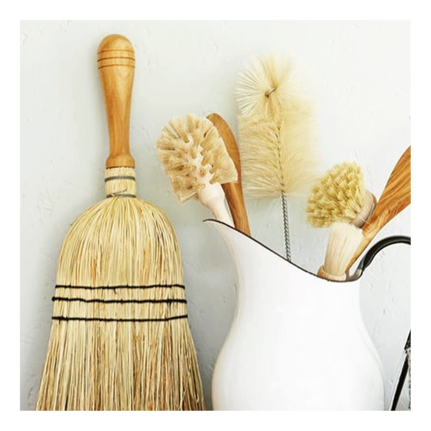 Redecker Redecker Stitched Straw Hand Brush