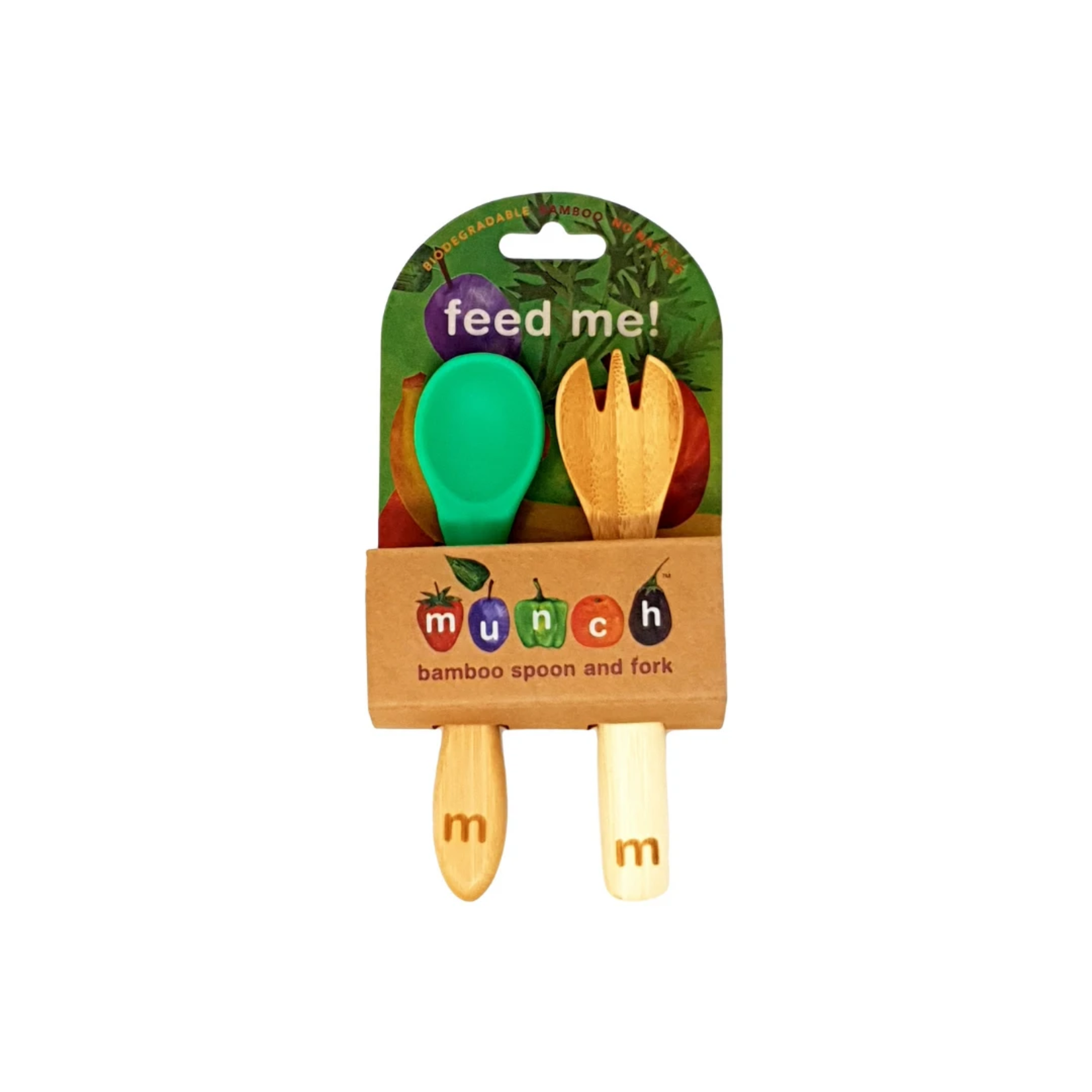 Munch Munch Bamboo Cutlery Set