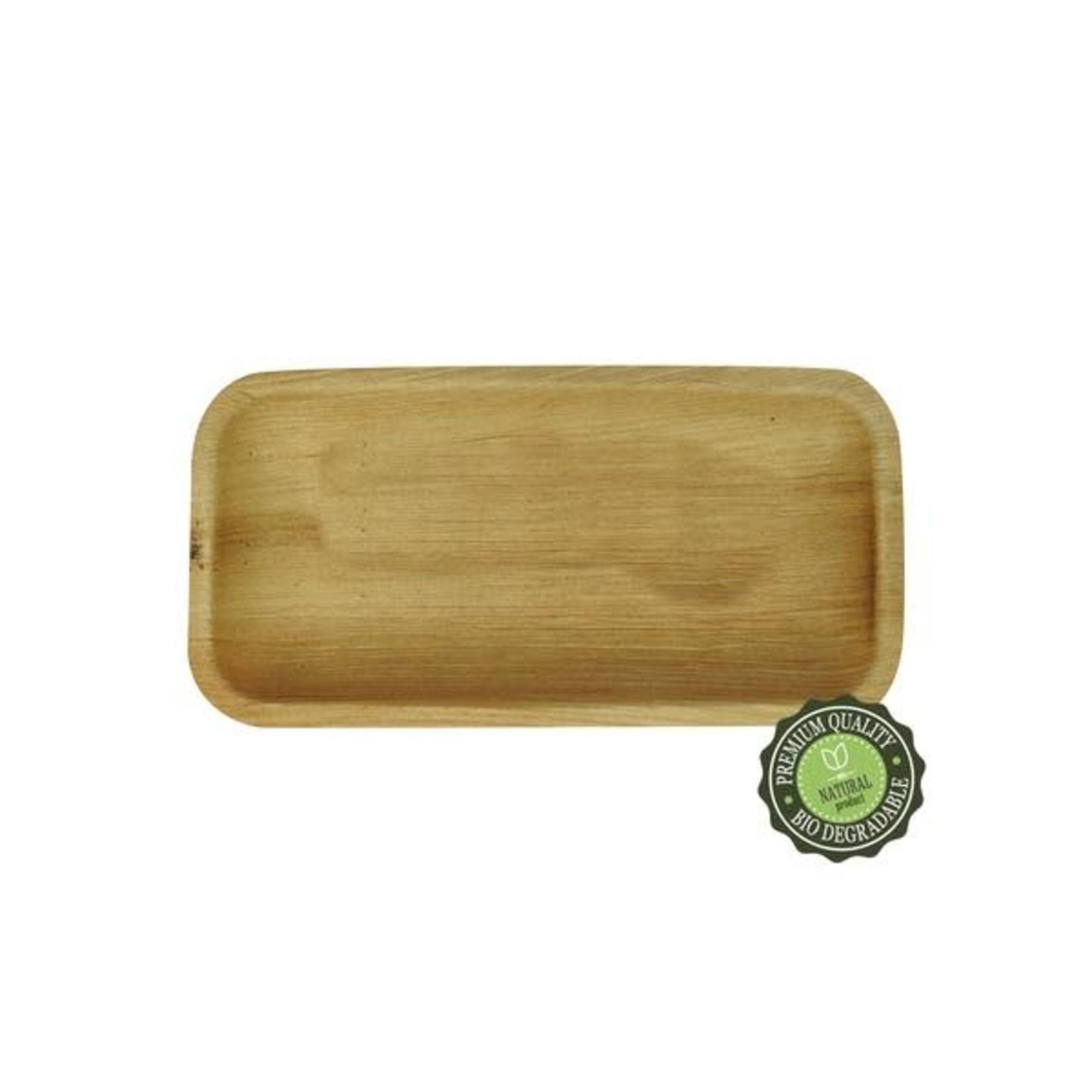"""Let's Go Nature'al Let's Go Natureal 9/6"""" Deep Rectangle Tray - 10pk"""