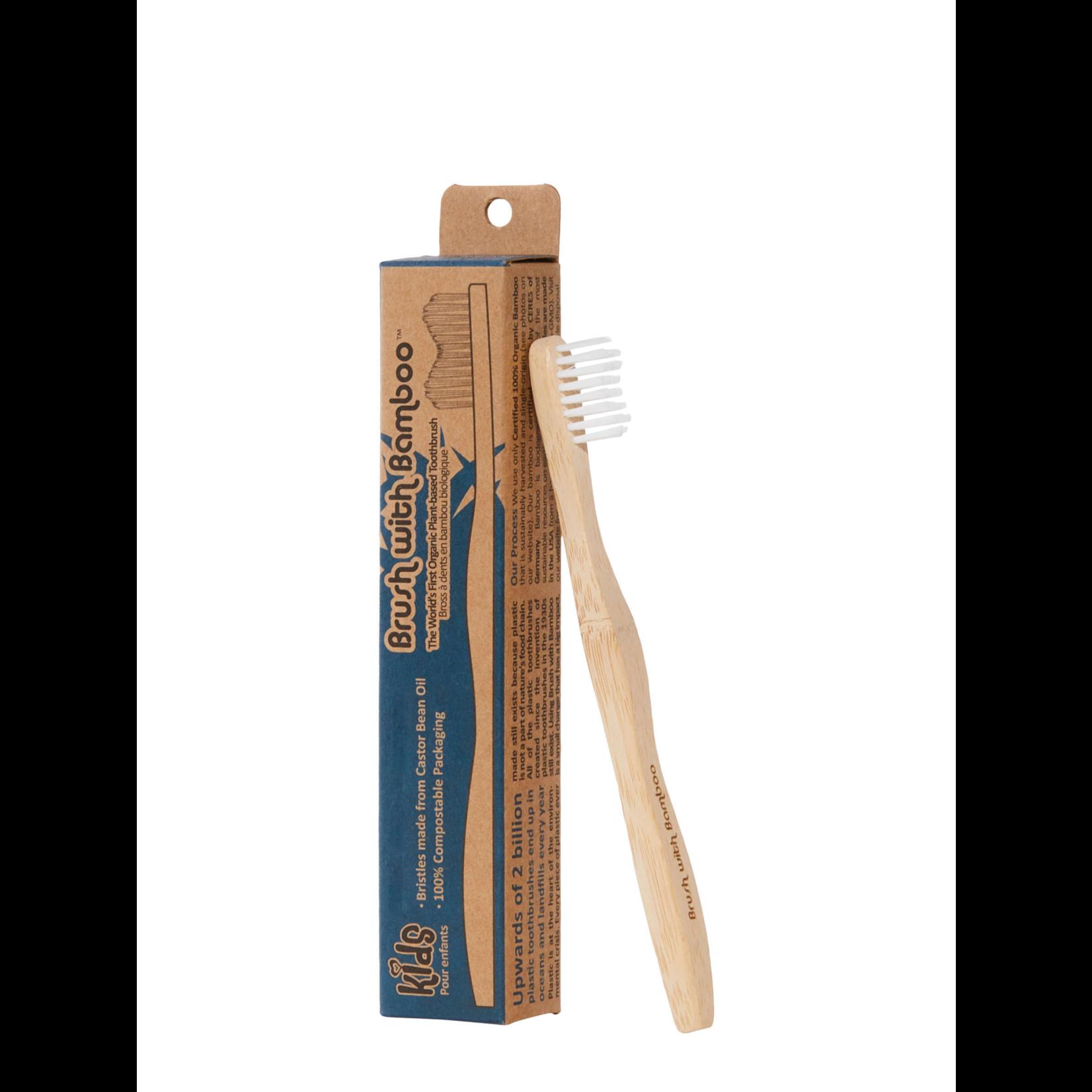 Brush With Bamboo Toothbrush Kids