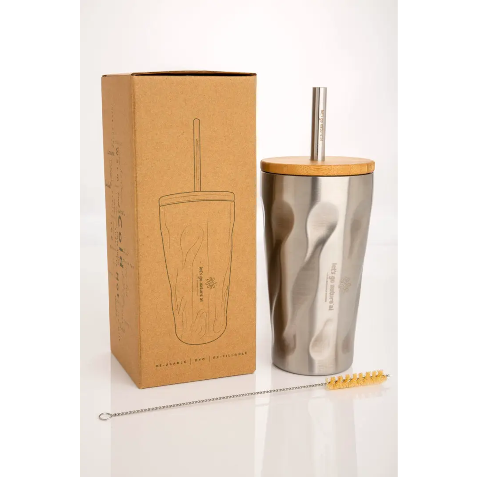 Let's Go Nature'al Let's Go Natureal Stainless Steel Tumbler