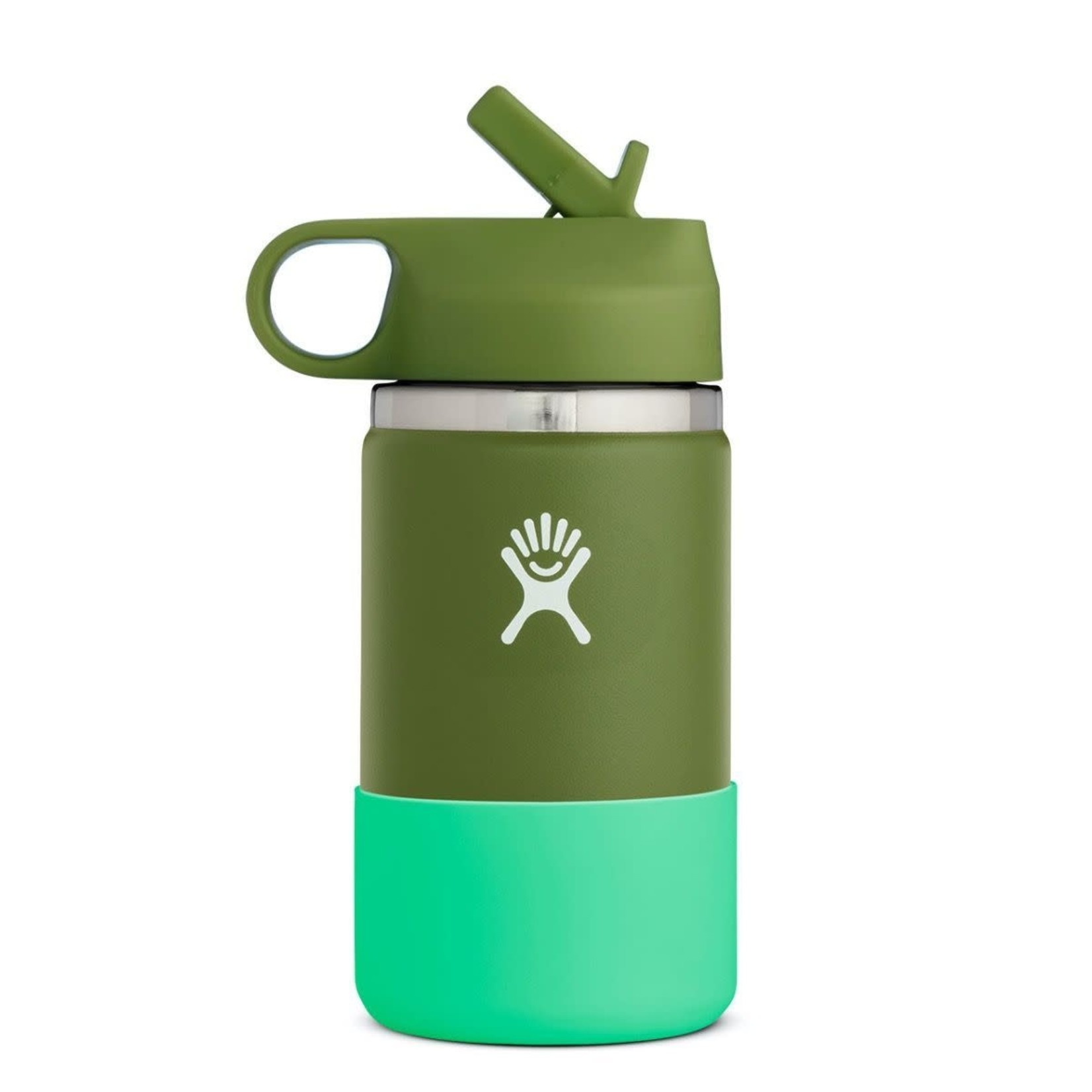 Hydro Flask Hydro Flask Wide Mouth Kids Bottle - Straw Lid Double Insulated 354ml