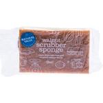 Natural Value Natural Value Walnut Scrubber Sponge