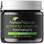 Nelson Nelson Naturals Charcoal Toothpaste - Peppermint