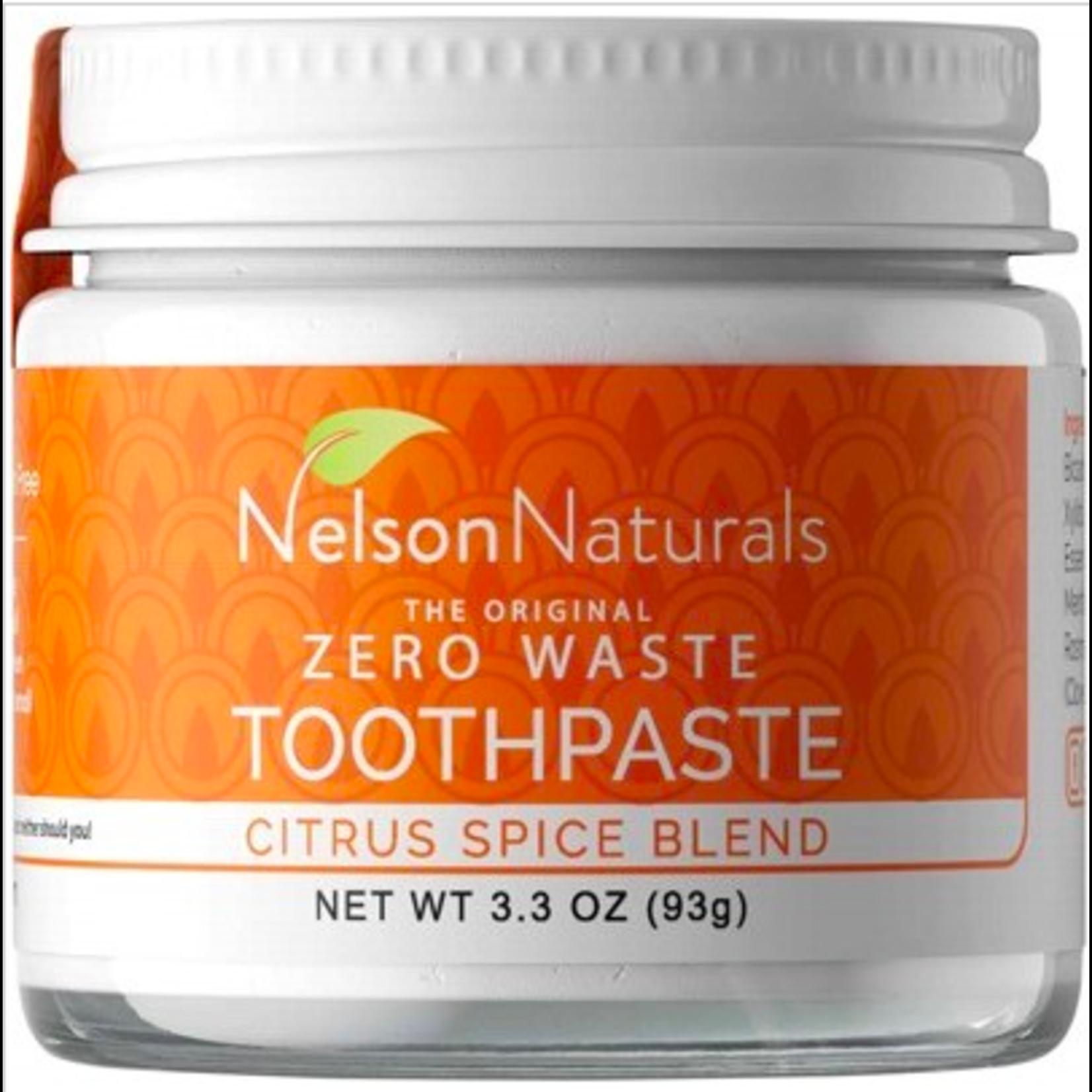 Nelson Nelson Naturals Zerowaste Toothpaste