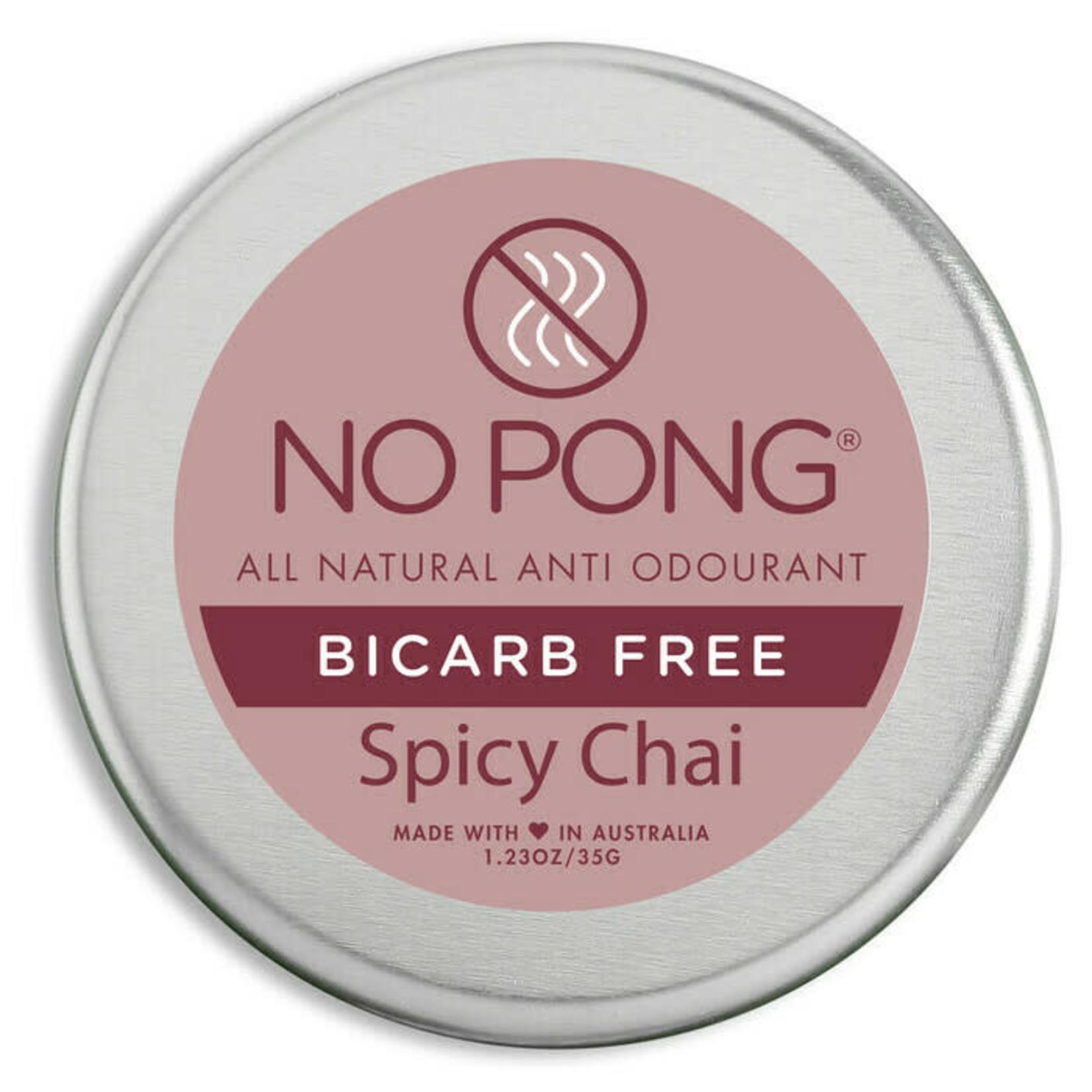 No Pong No Pong Spicy Chai BiCarb Free