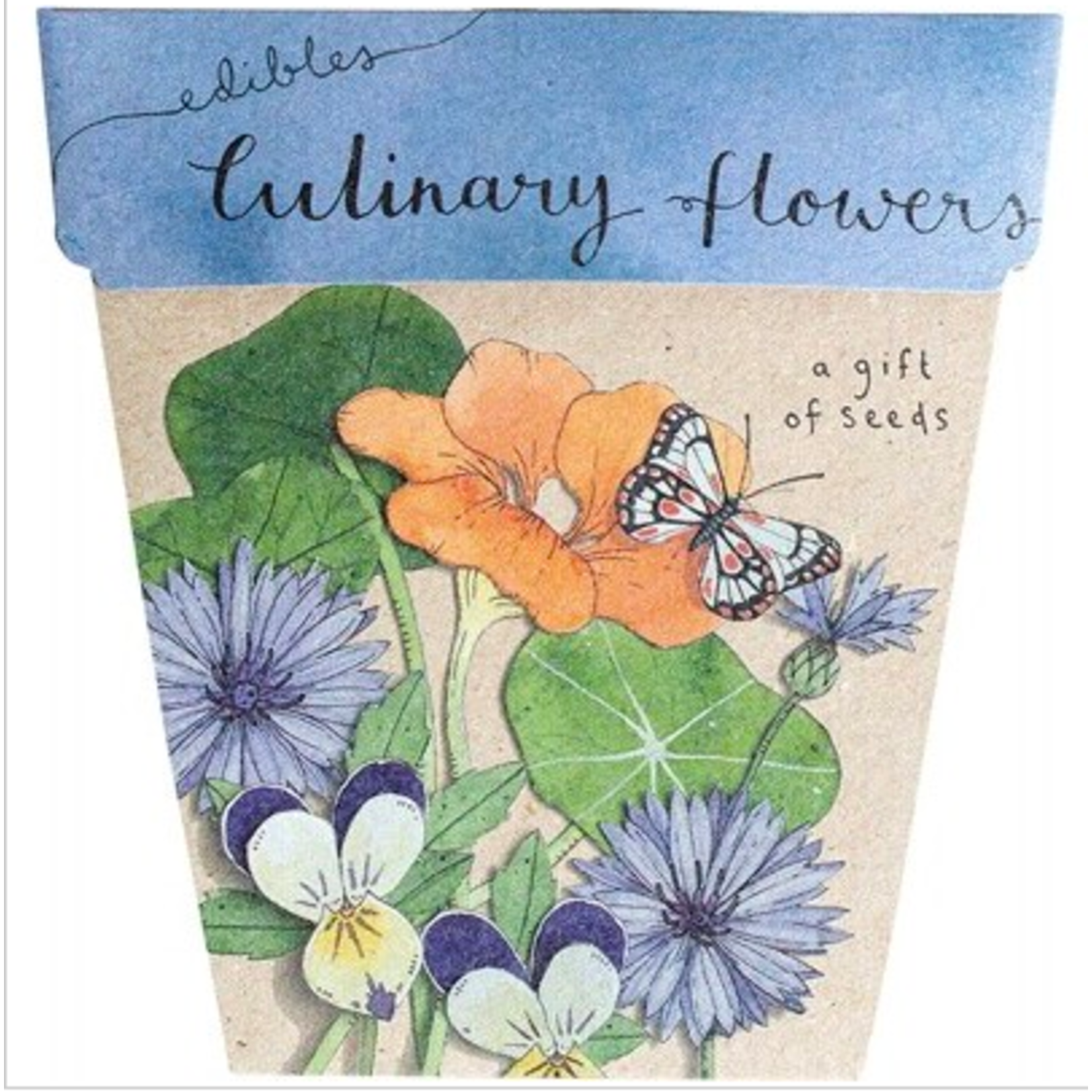 Sow 'n Sow Sow 'N Sow Gift of Seeds Culinary Flowers