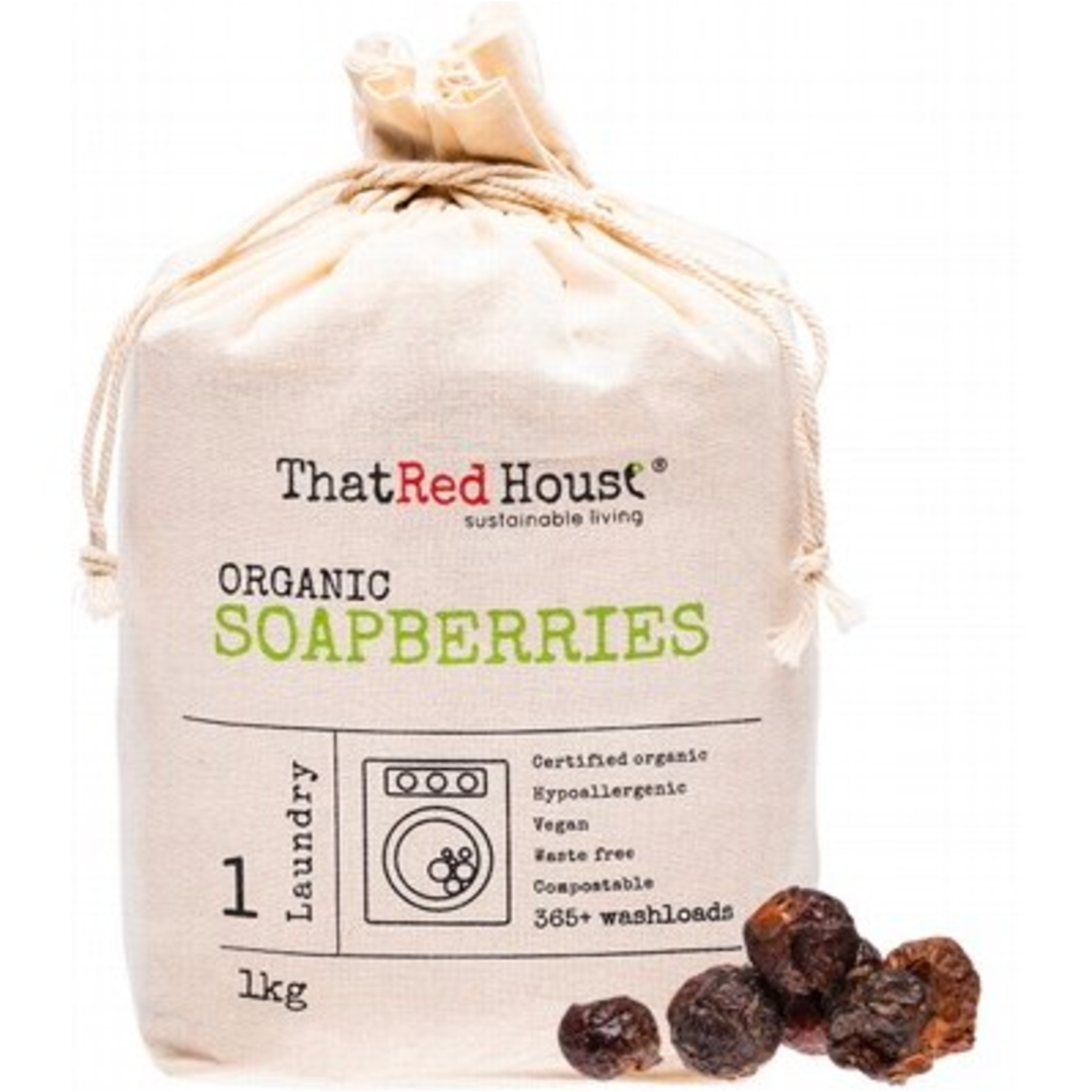 That Red House That Red House Organic Soapberries - 1kg