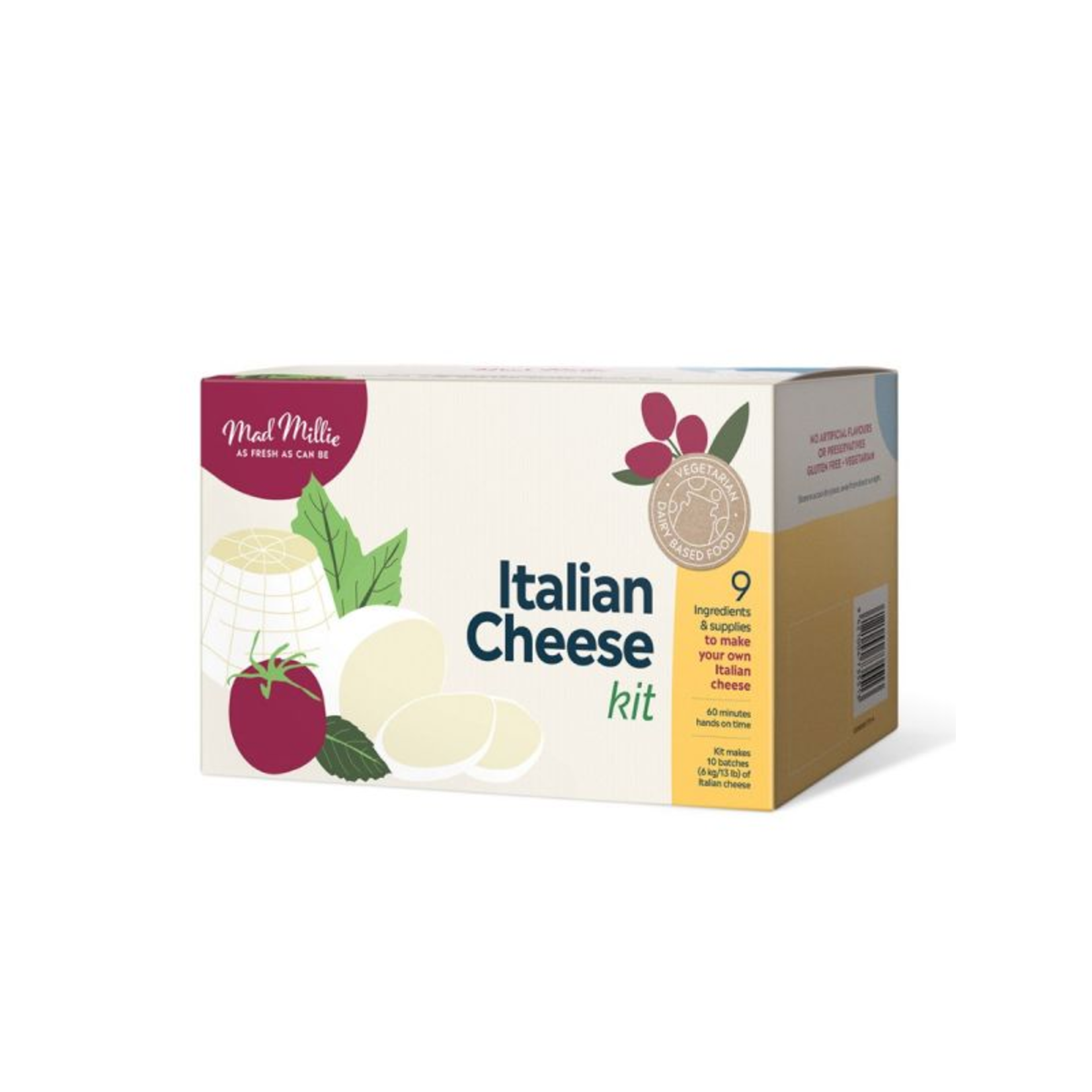 Mad Millie Mad Millie - Italian Cheese Kit