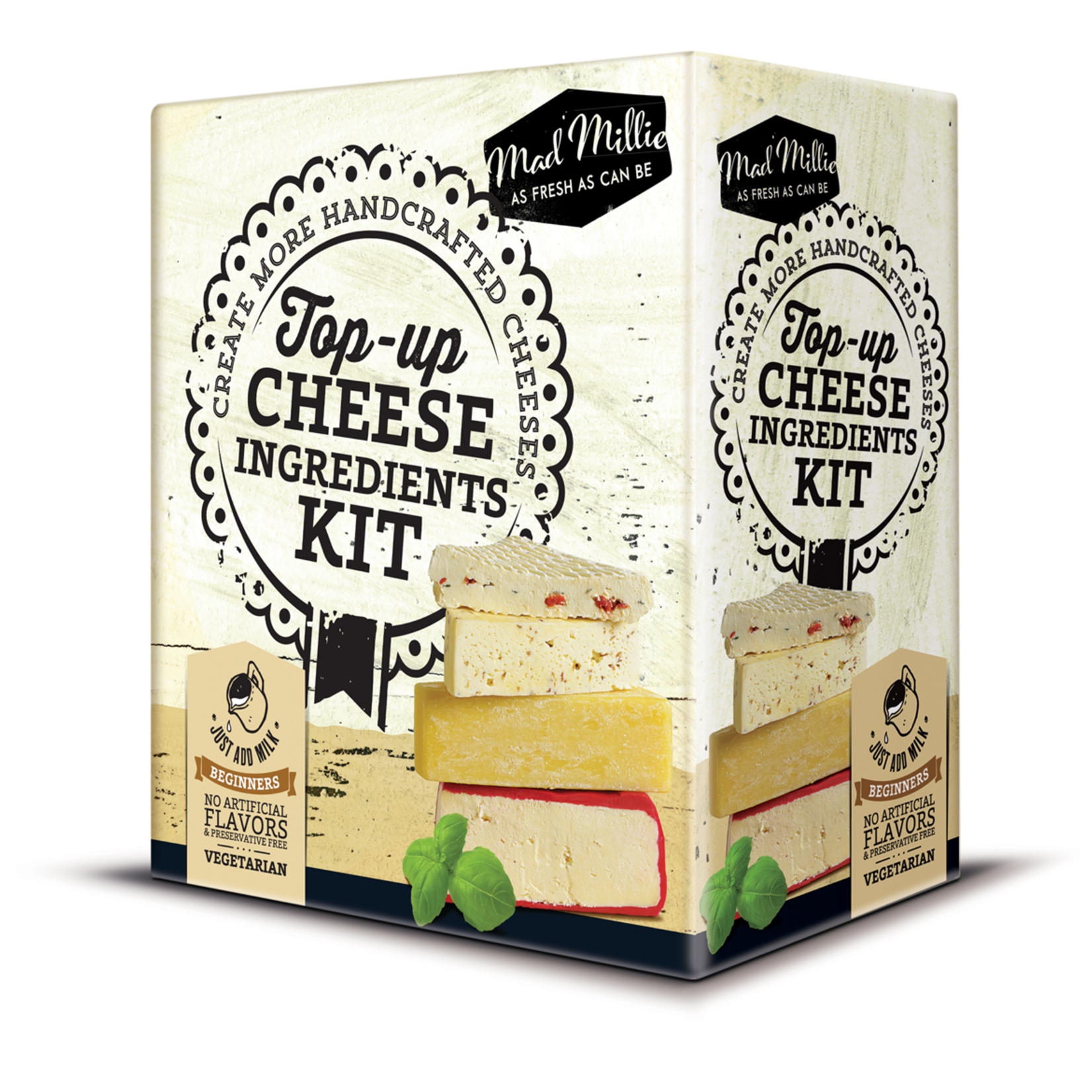 Mad Millie Mad Millie - Top-Up Cheese Ingredients Kit