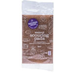 Natural Value Natural Value Walnut Scouring pads x 2