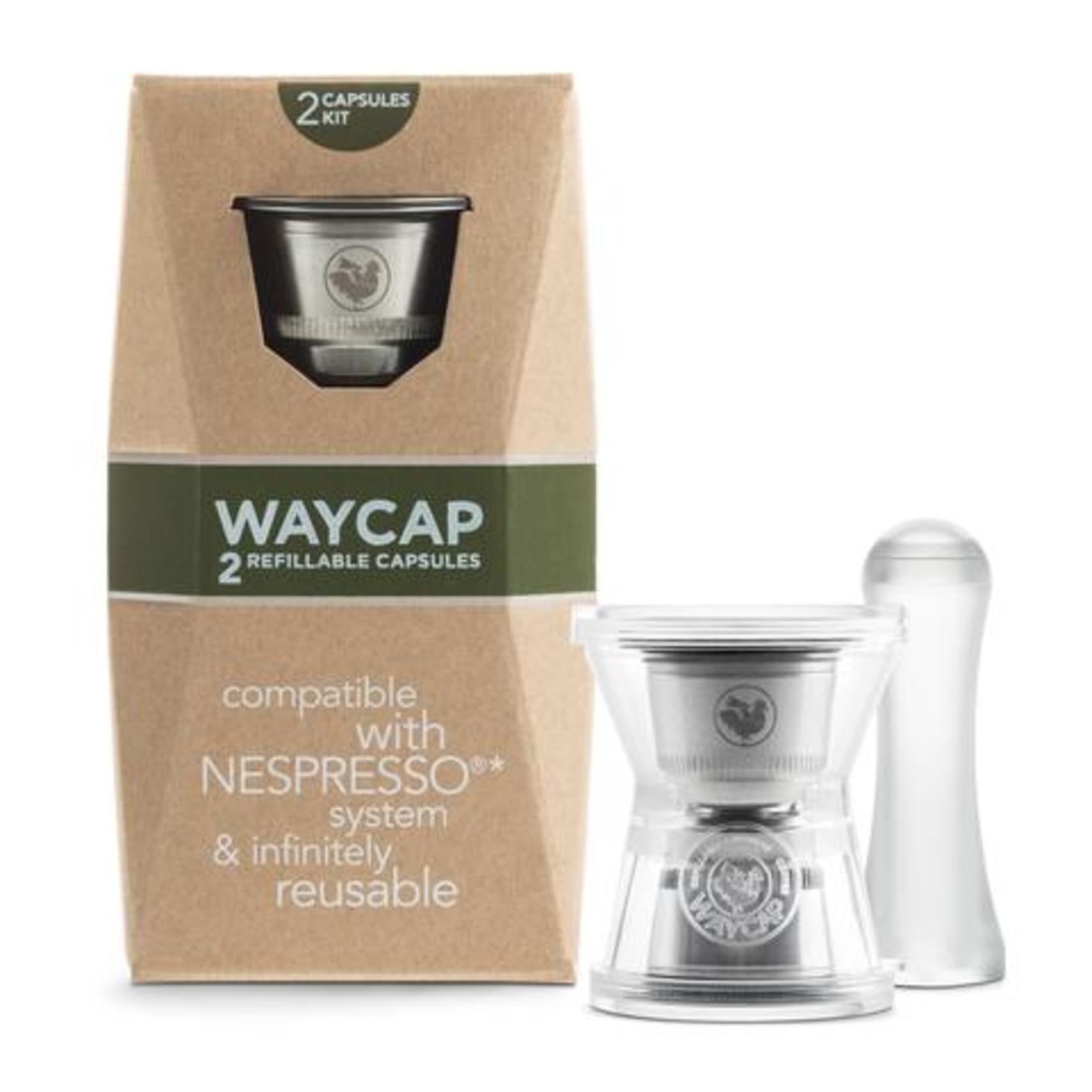 WayCap WayCap EZ Refillable Capsule 2pk