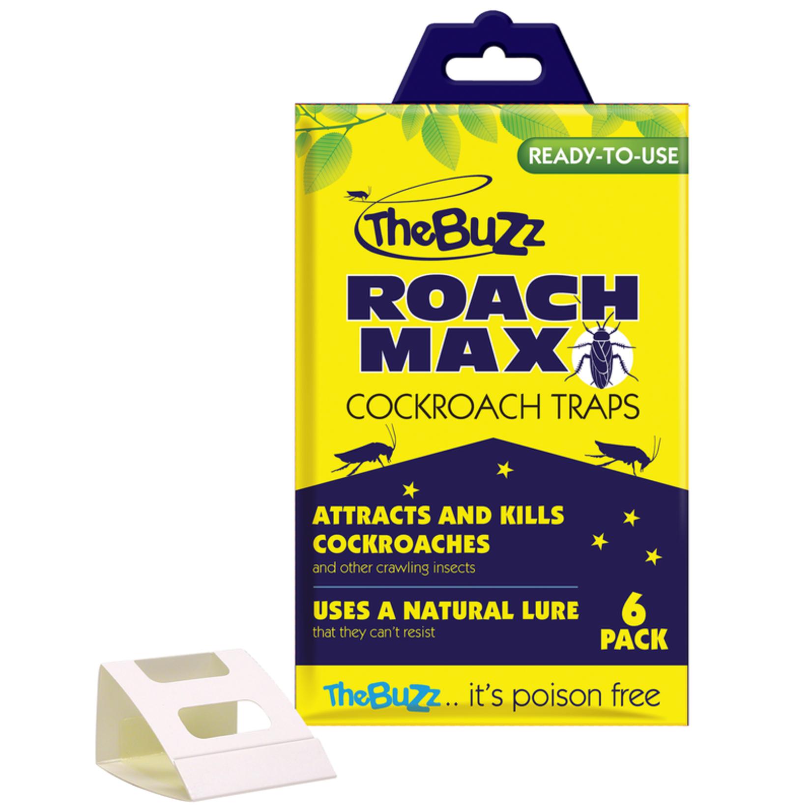 The Buzz The Buzz Cockroach Traps 6pk