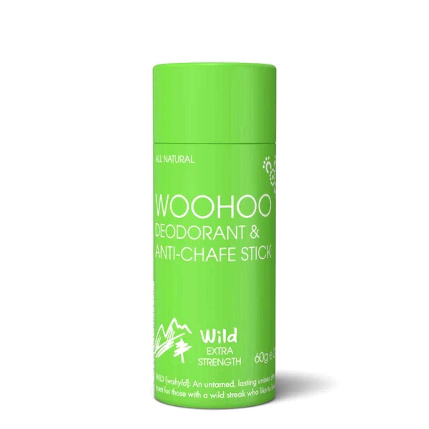 Woohoo Body Woohoo deodorant & anti-chafe stick