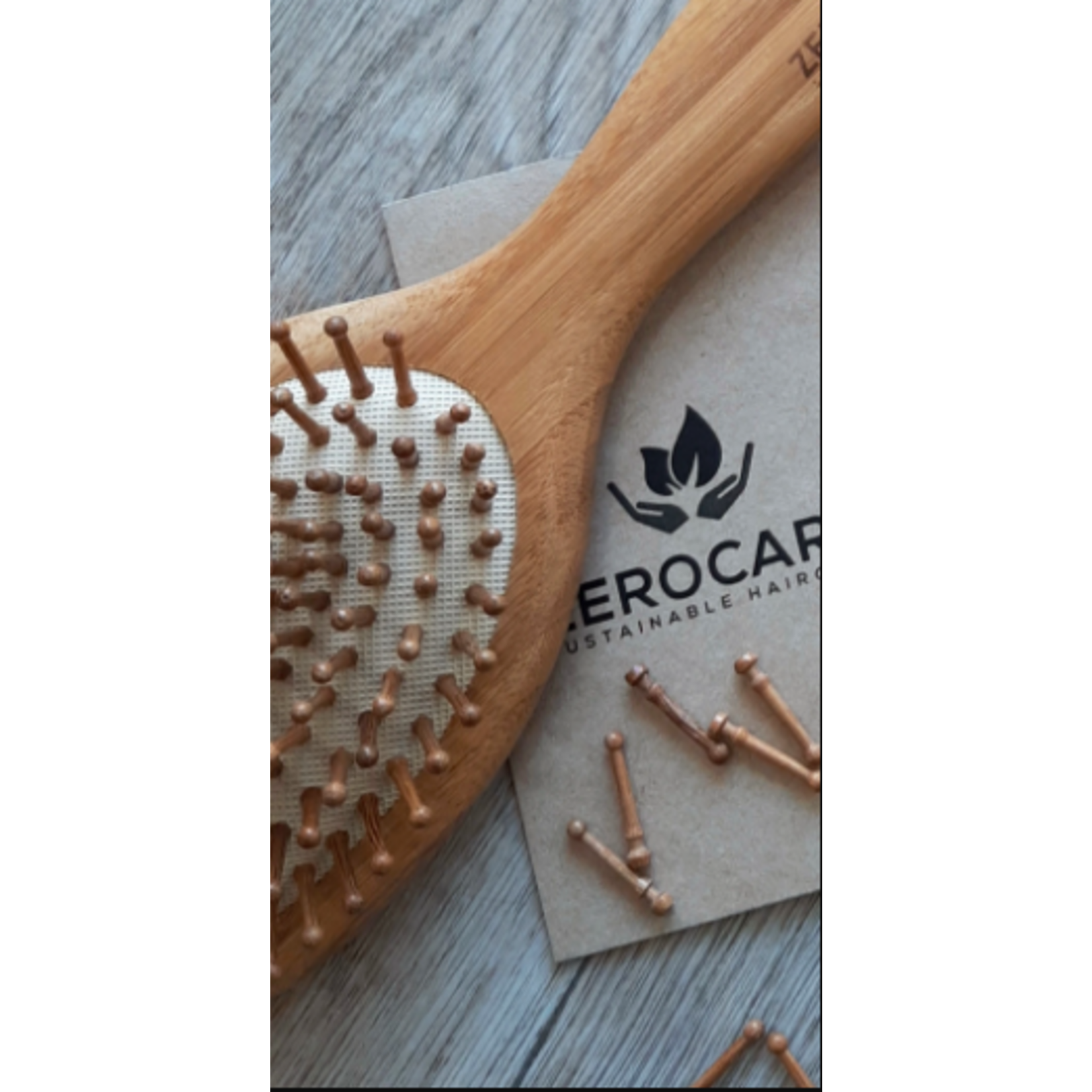 Zerocare Zerocare Bamboo Styler Brush Pin Refill