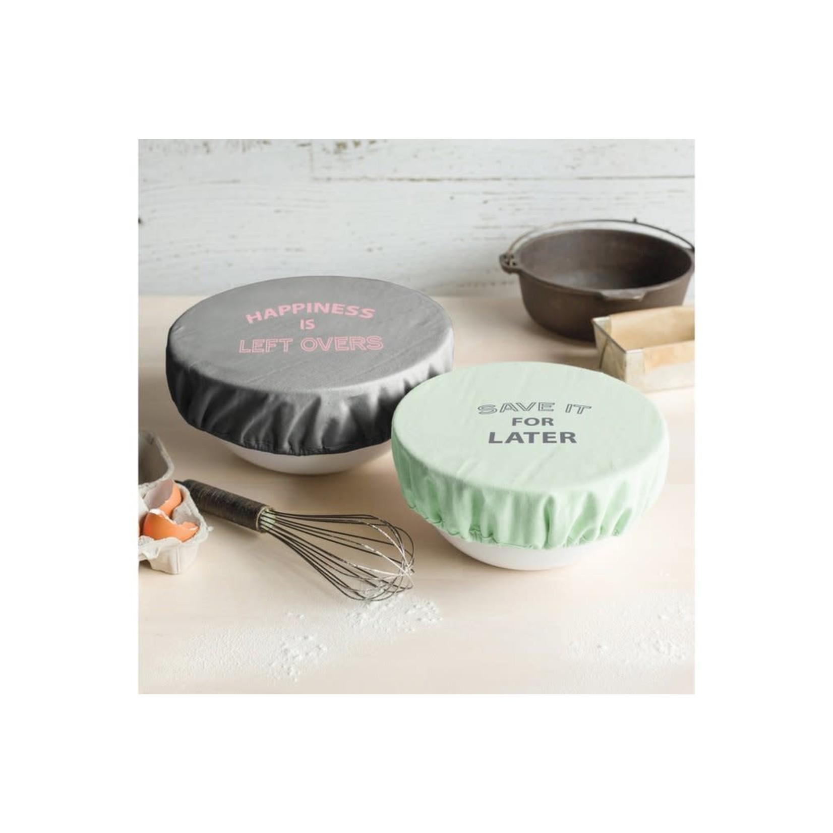 Retro Kitchen Retro Kitchen Bowl Covers 2pk - Pastels