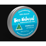 Bee Natural Bee Natural Lip Balm Tin - Vanilla