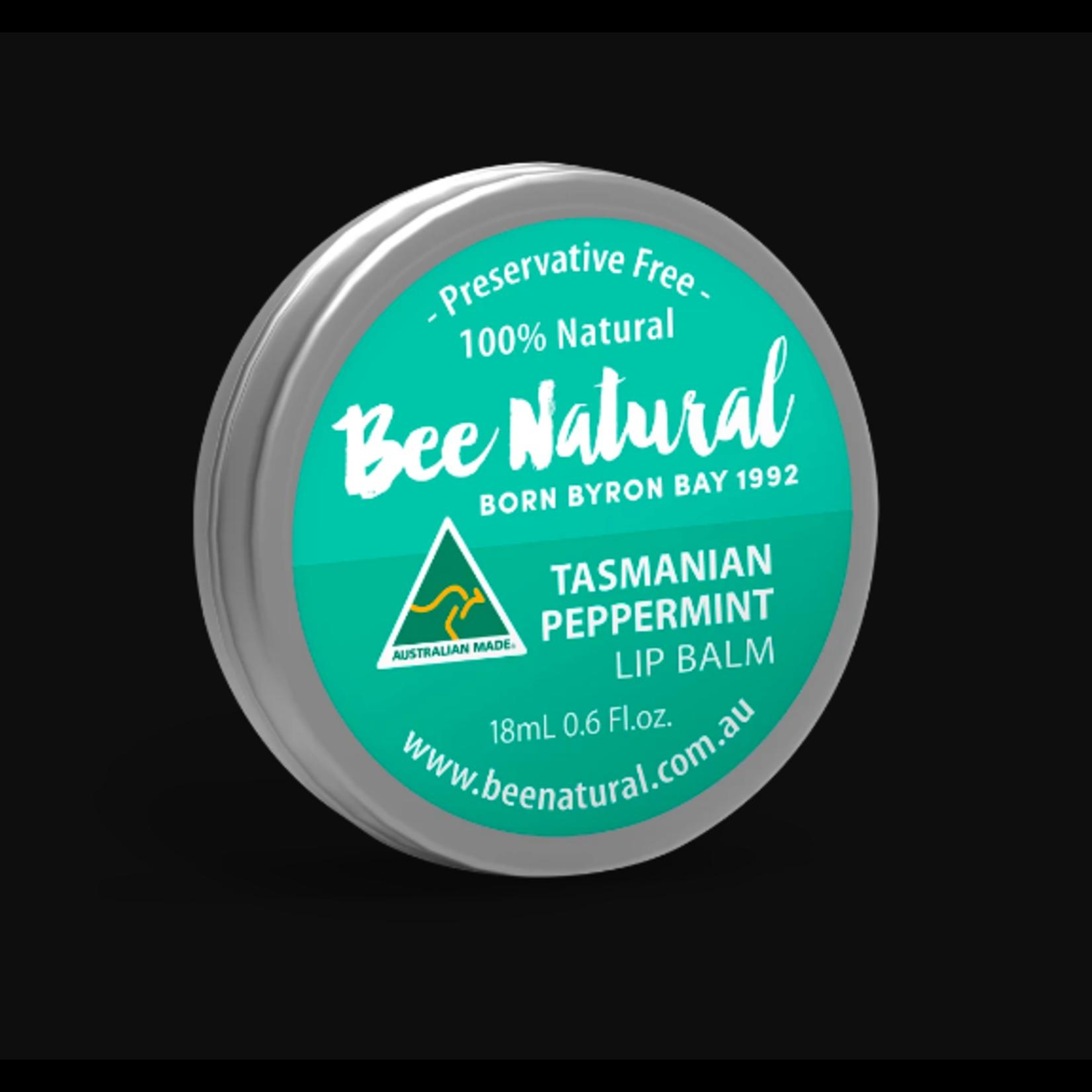 Bee Natural Bee Natural Lip Balm Tin - Tasmanian Peppermint