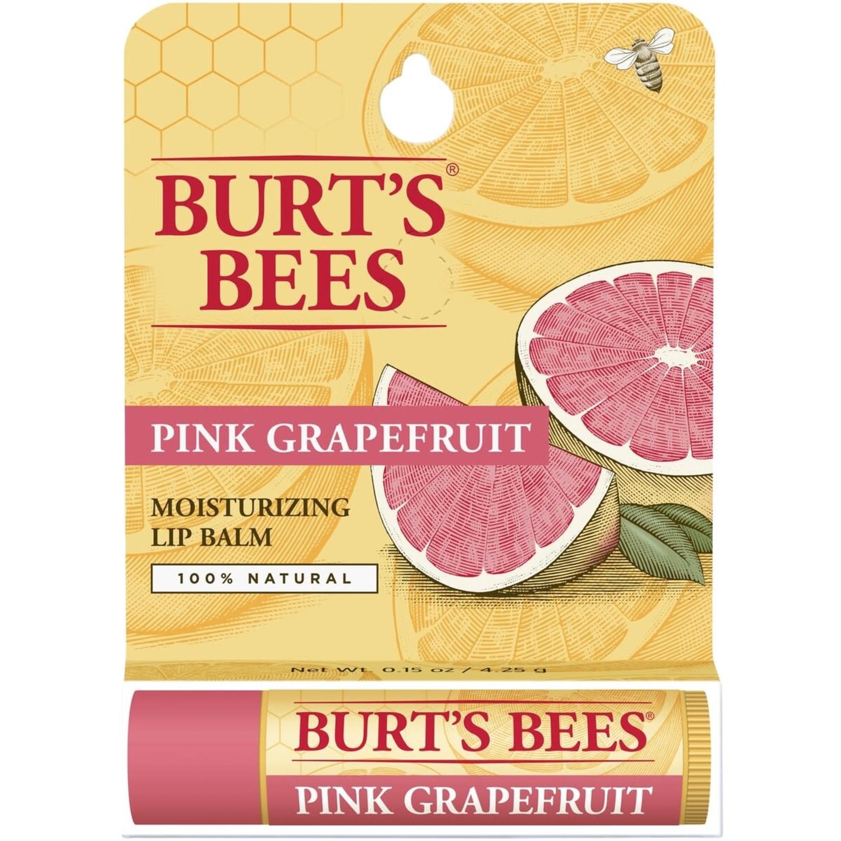Burt's Bee Burt's Bees Natural Lip Balm Pink Grapefruit