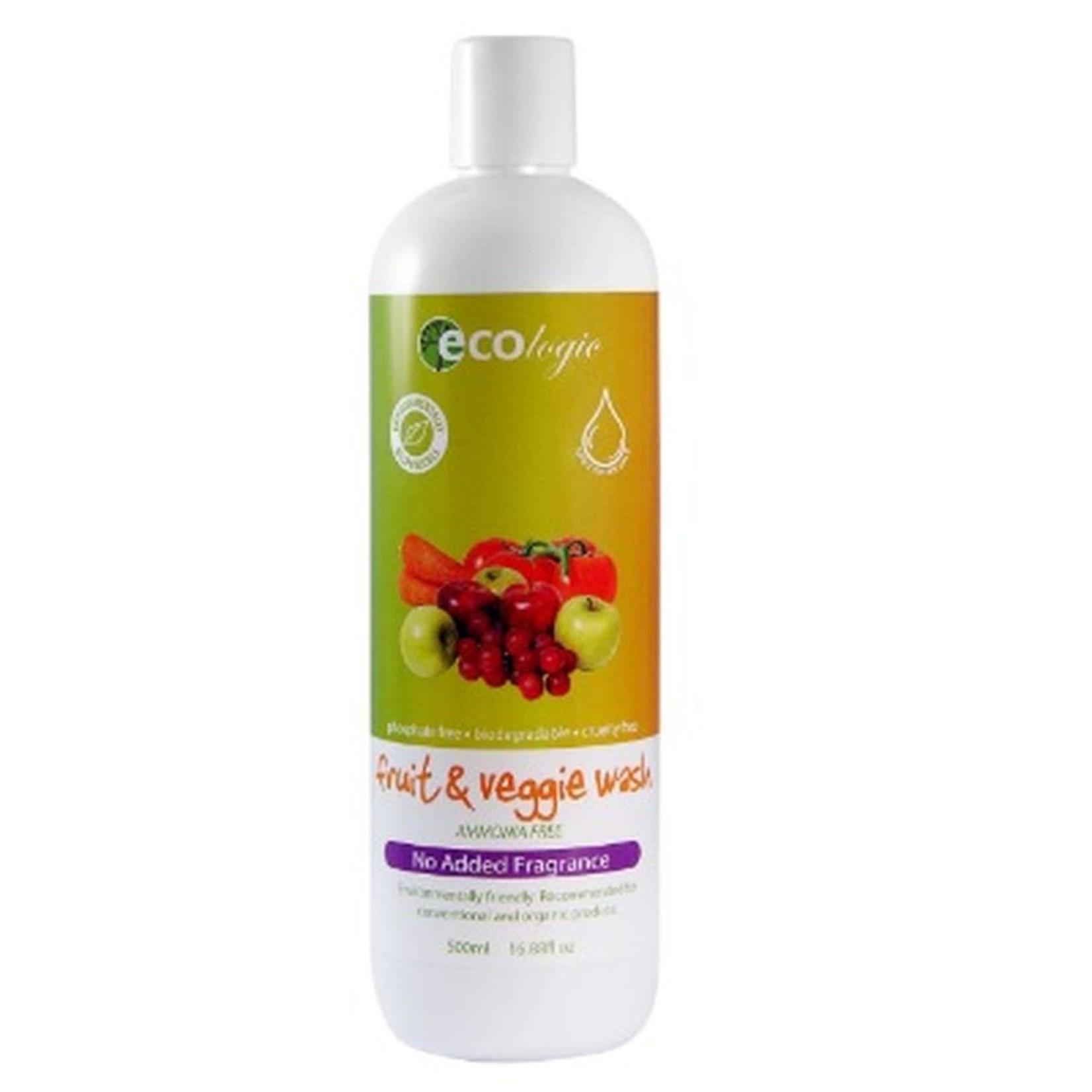 Ecologic Ecologic Fruit & Veggie Wash 500ml