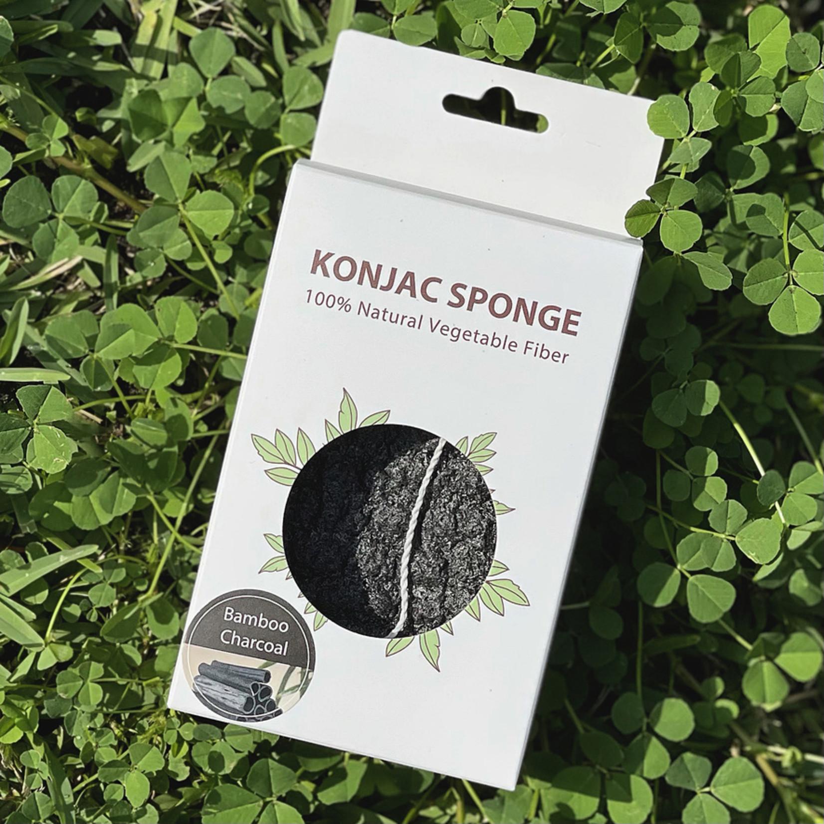 Eco Revolution Konjac Sponge Body Bamboo Charcoal