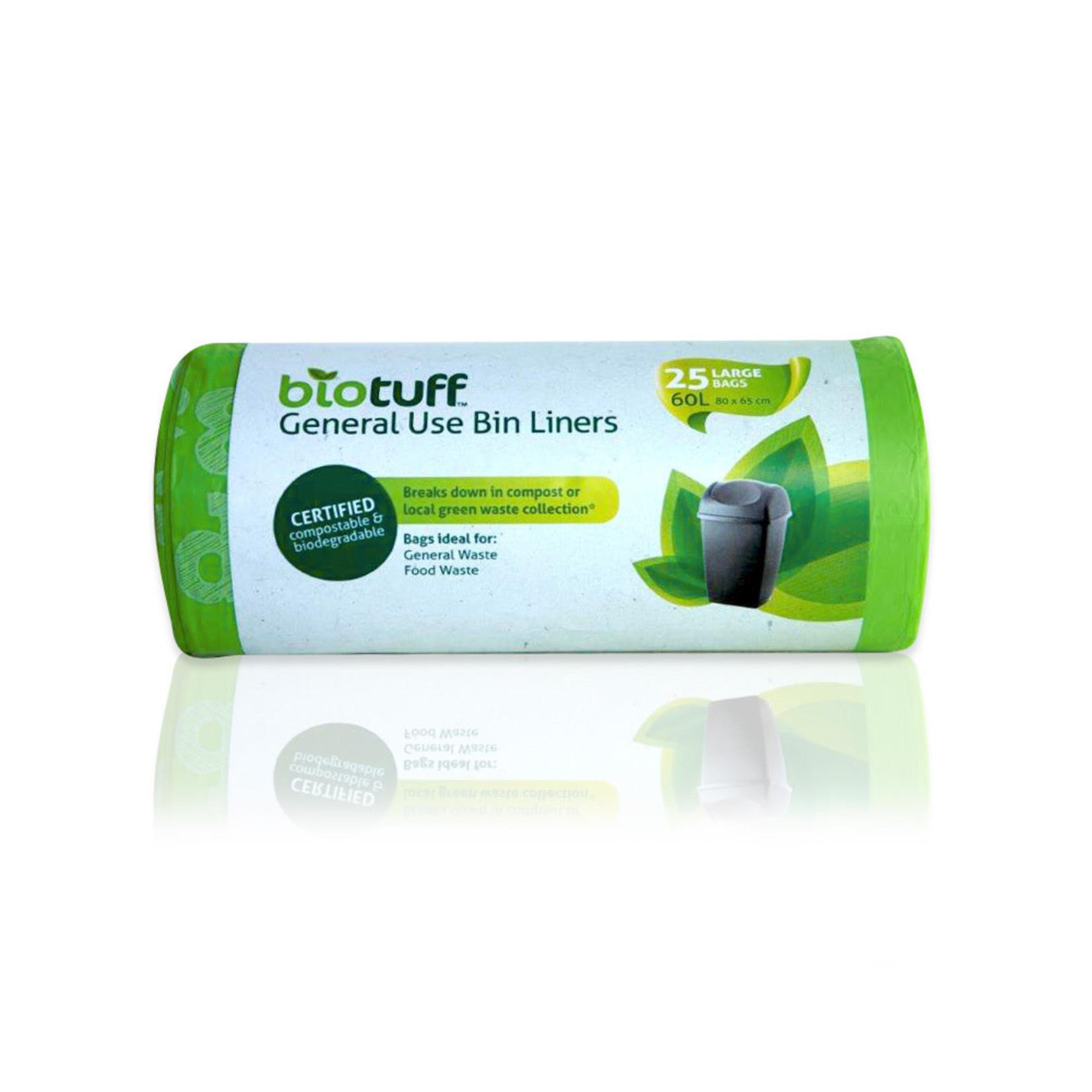Biotuff Biotuff Bin Liner 25pk 60L