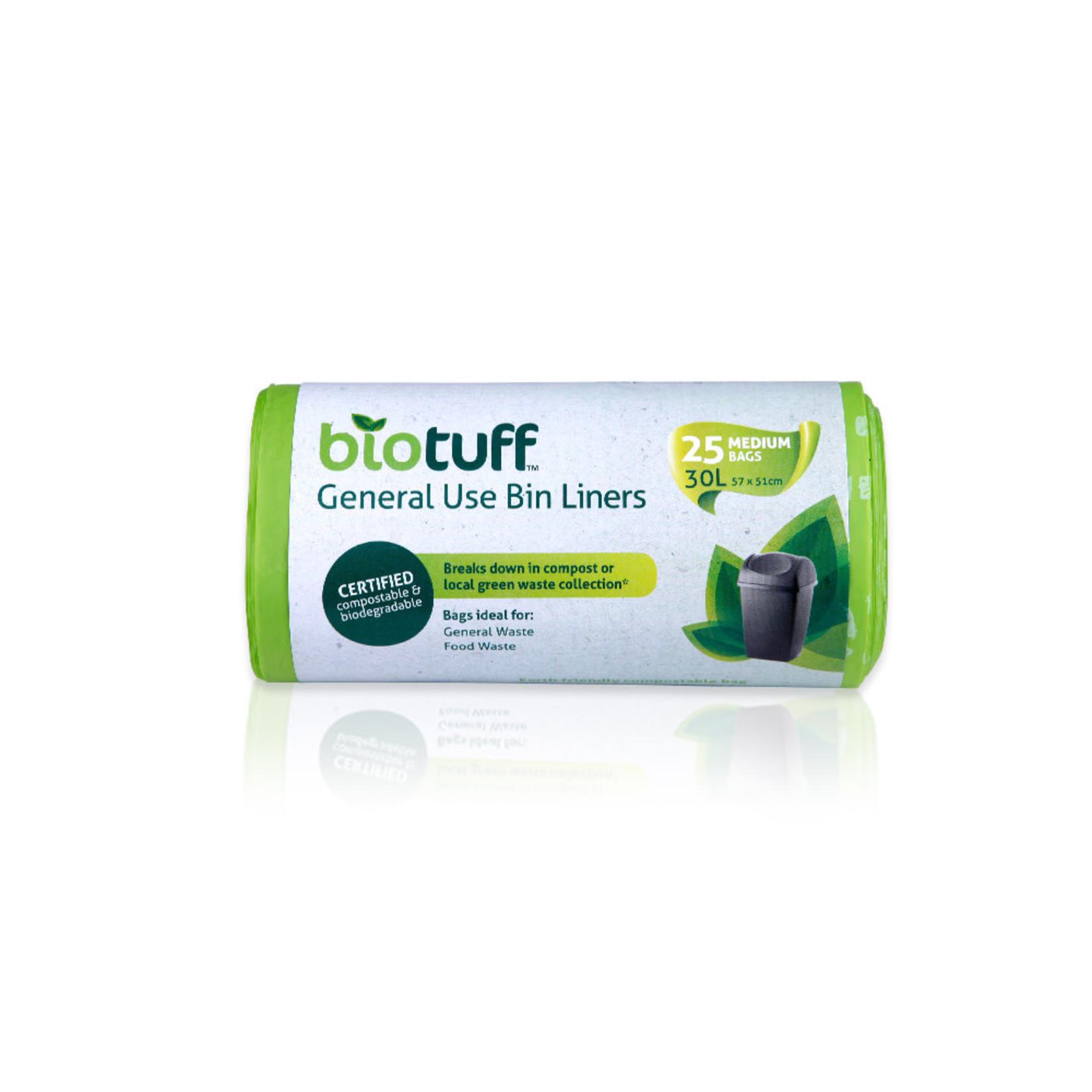 Biotuff Biotuff Bin Liner 30L 25pk