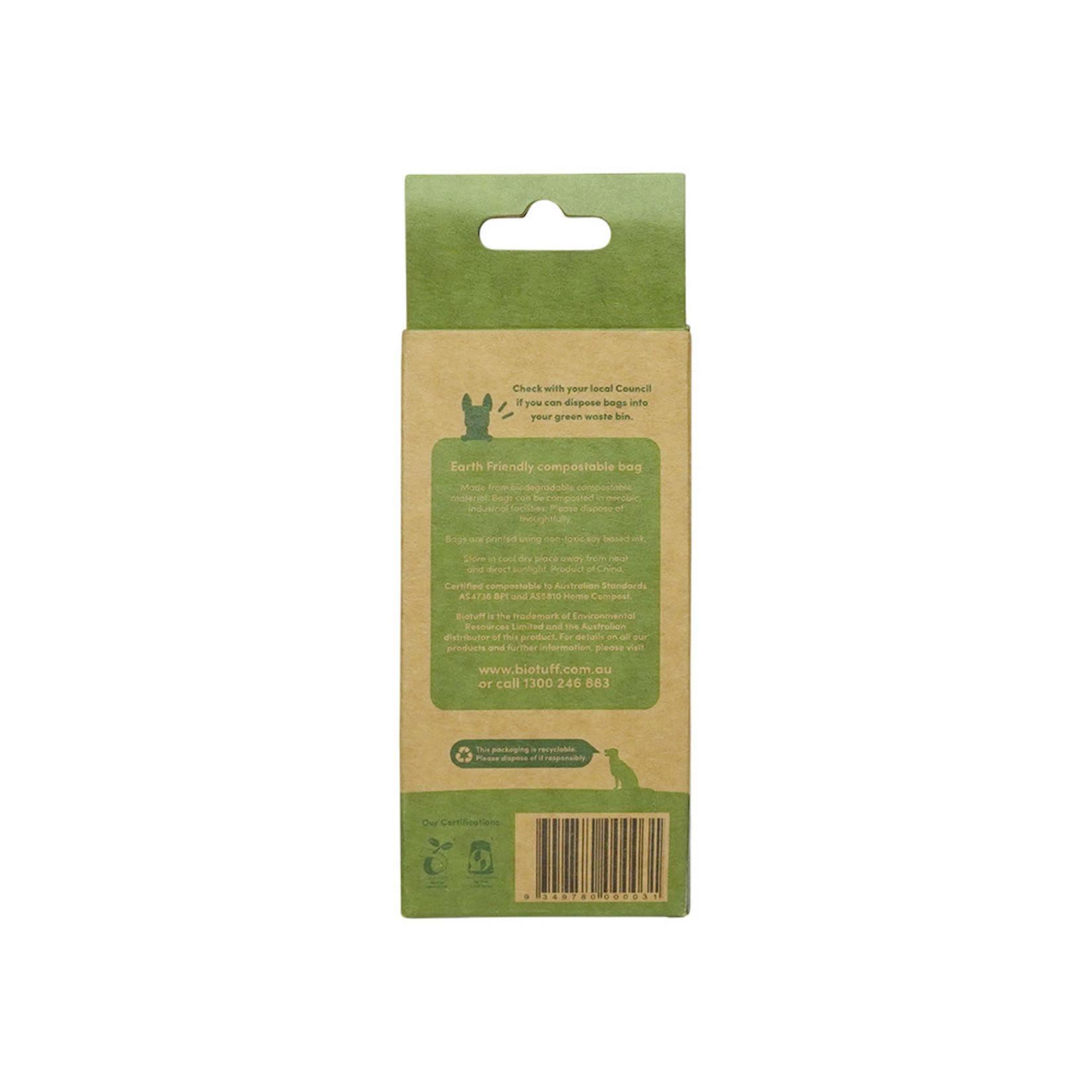 Biotuff Biotuff Dog Waste Bags Refill (4x15)