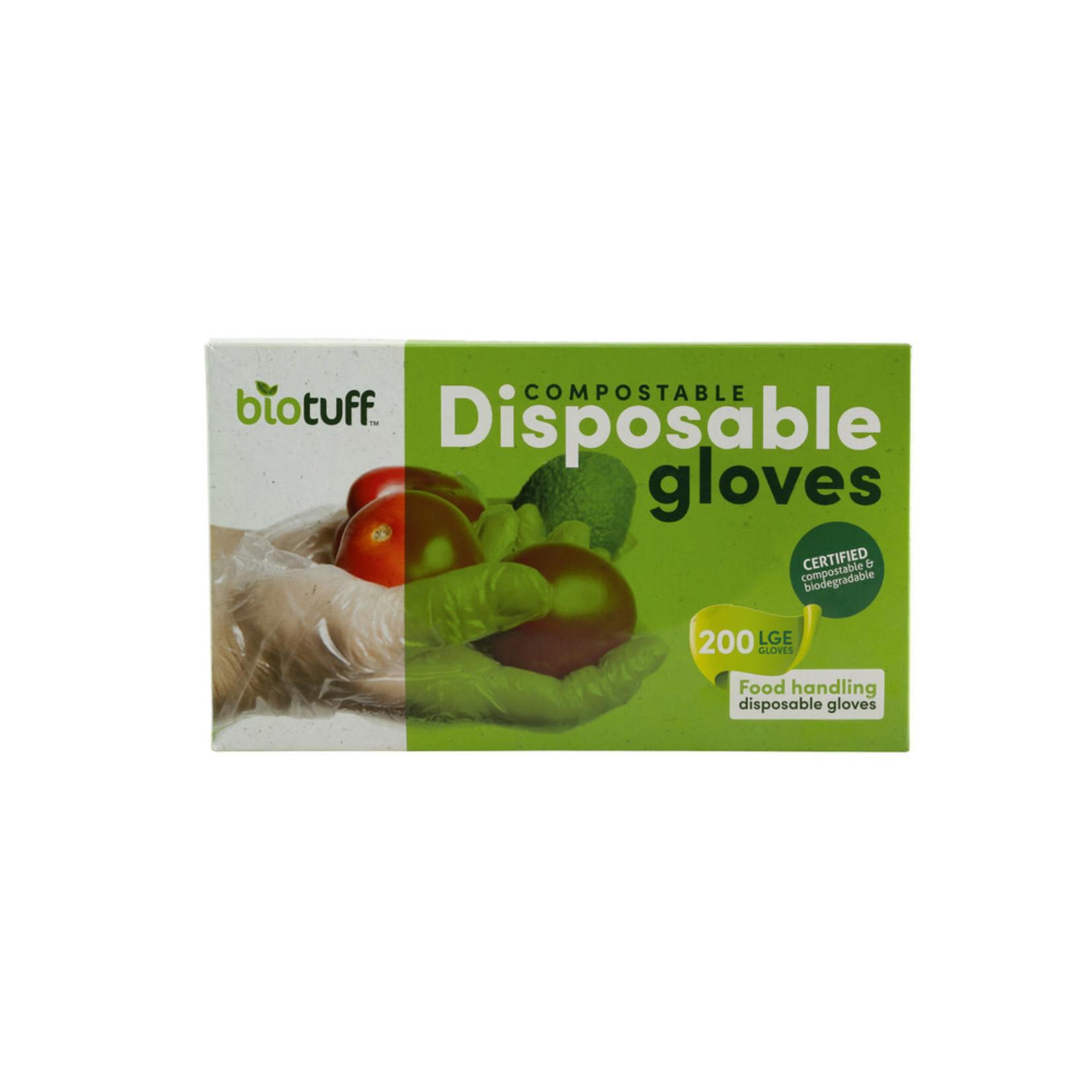 Biotuff Biotuff Compostable Disposable Gloves