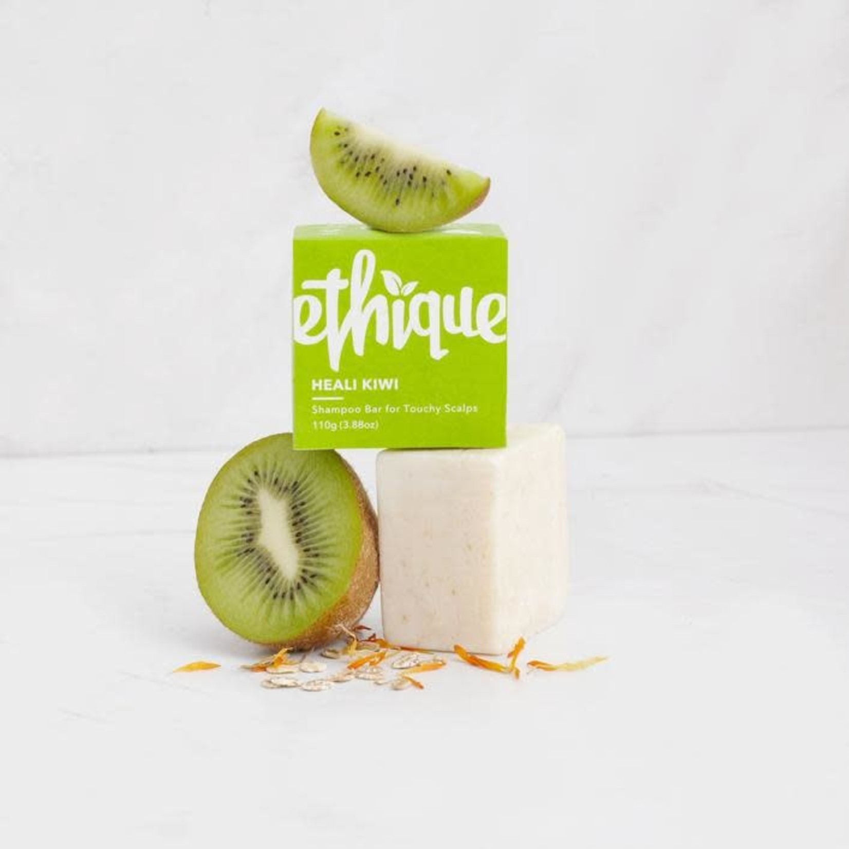 Ethique Ethique Shampoo Bar Heali Kiwi - For Touchy Scalps