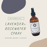 Better Bee Eco Better Bee Eco Lavender Rosewater Spray