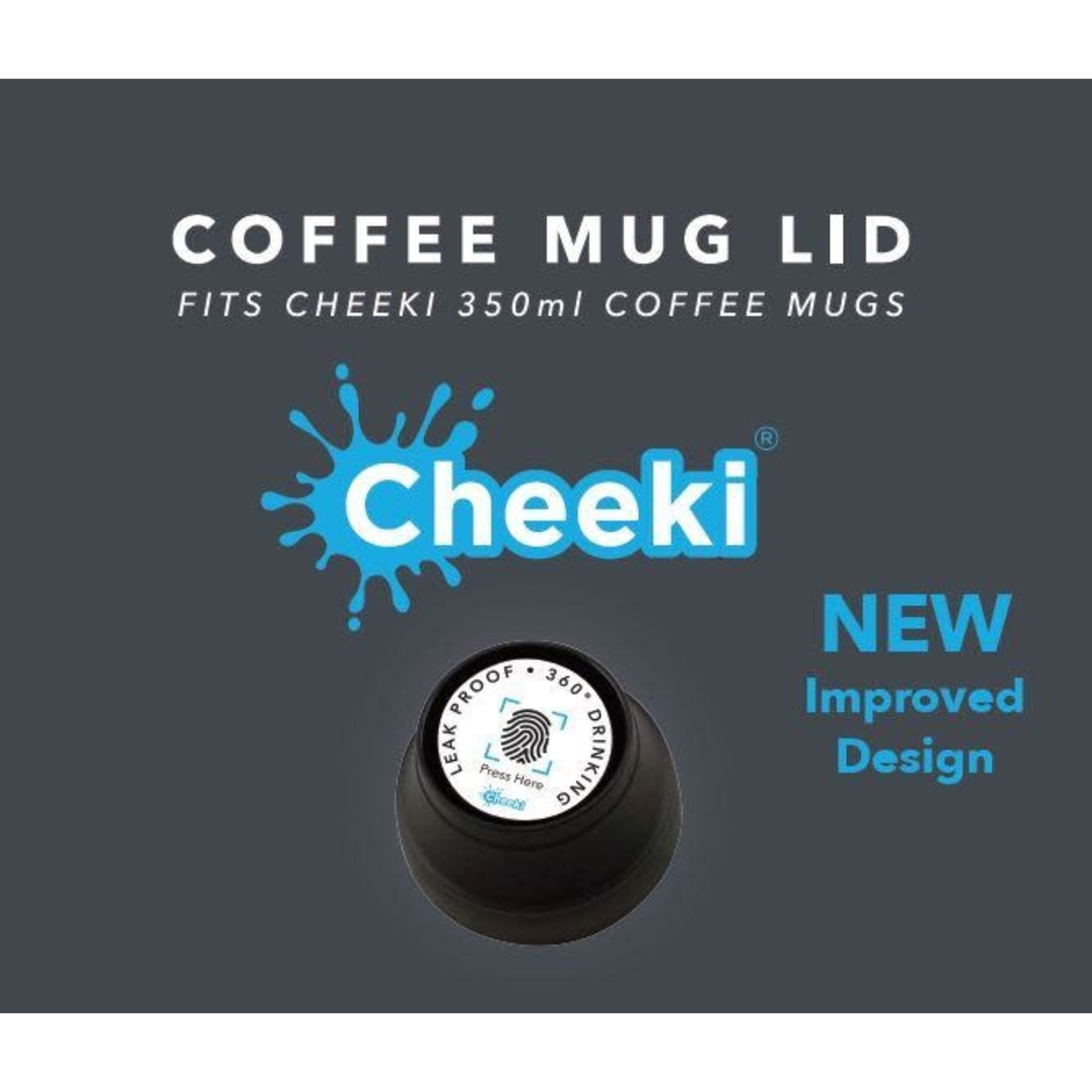 Cheeki Cheeki Coffee Mug Lid
