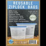 My Humble Earth My Humble Earth Reusable Ziplock Bag 1L & 1.5L