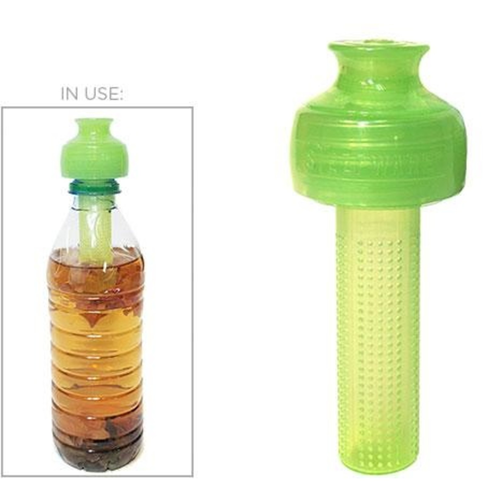 Tea Tonic Tea Tonic Cold Brew Tea Bottle Infuser - Green