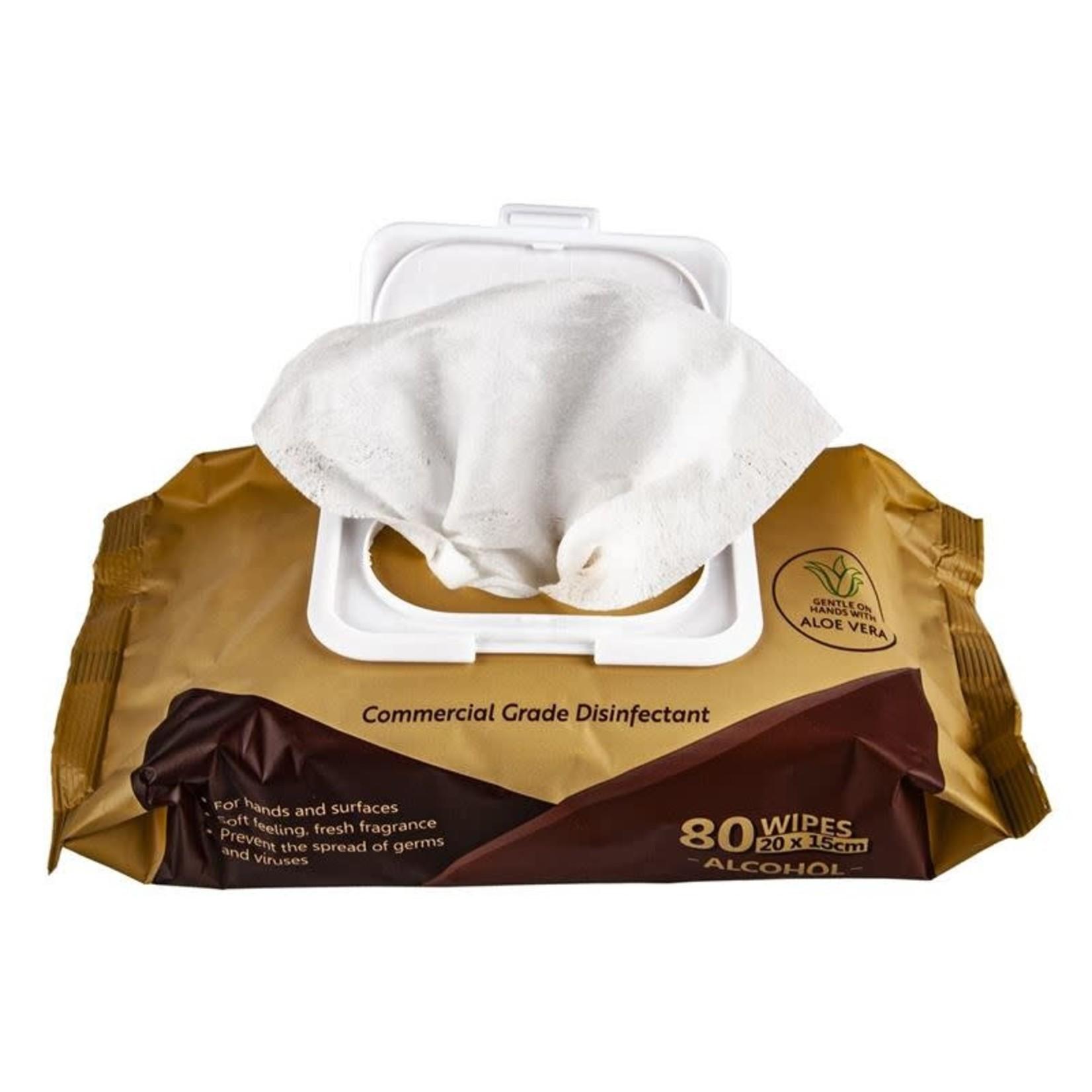 Eco Basics Eco Basics Antibacterial Wipes 80 pack