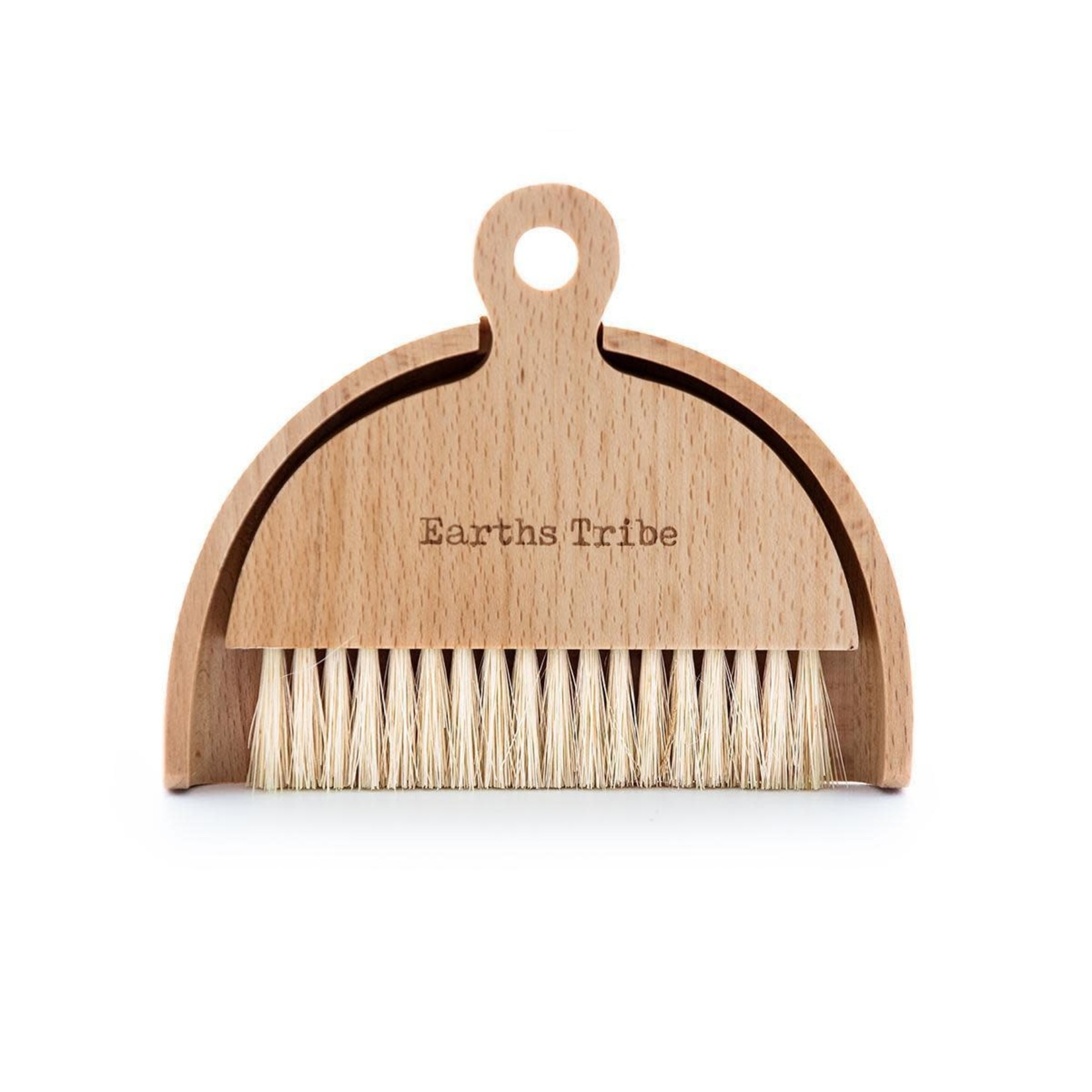 Earths Tribe Earths Tribe Beechwood Table Brush & Dustpan