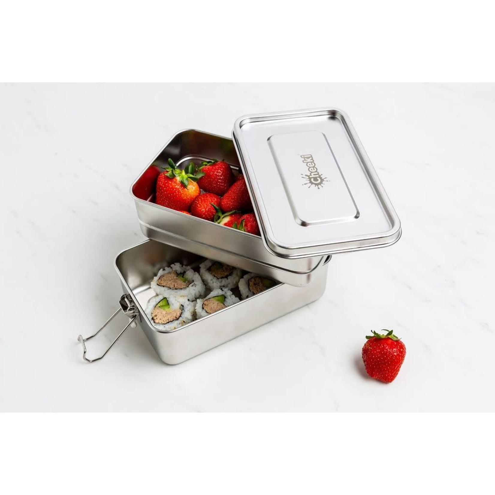 Cheeki Cheeki 1.2L Lunch Box - Double Stack