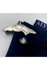 Horse Head Tie Clip