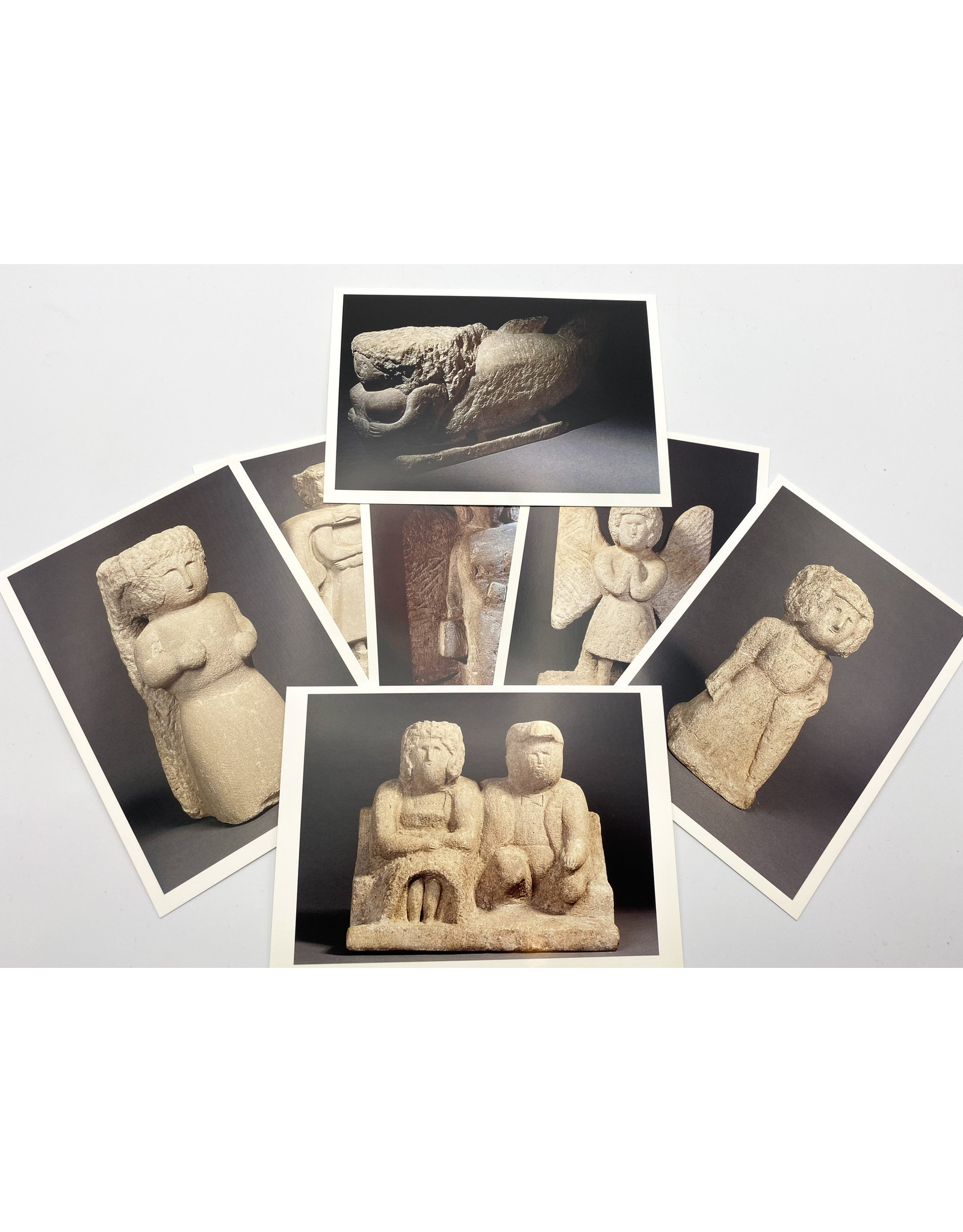 William Edmondson Postcard Set of 7