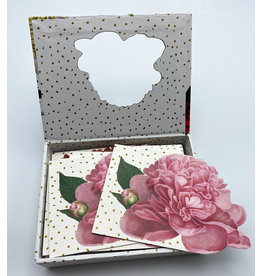 Diecut Flower Boxed Notes