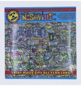 Nashville Map Poster