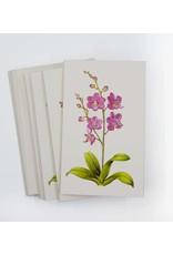Paula Skene Designs Box of 8 Foil Orchid Cards