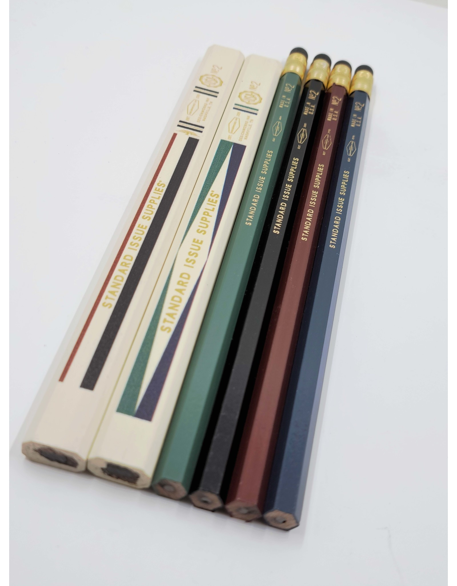 Set of 6 No2 Pencils