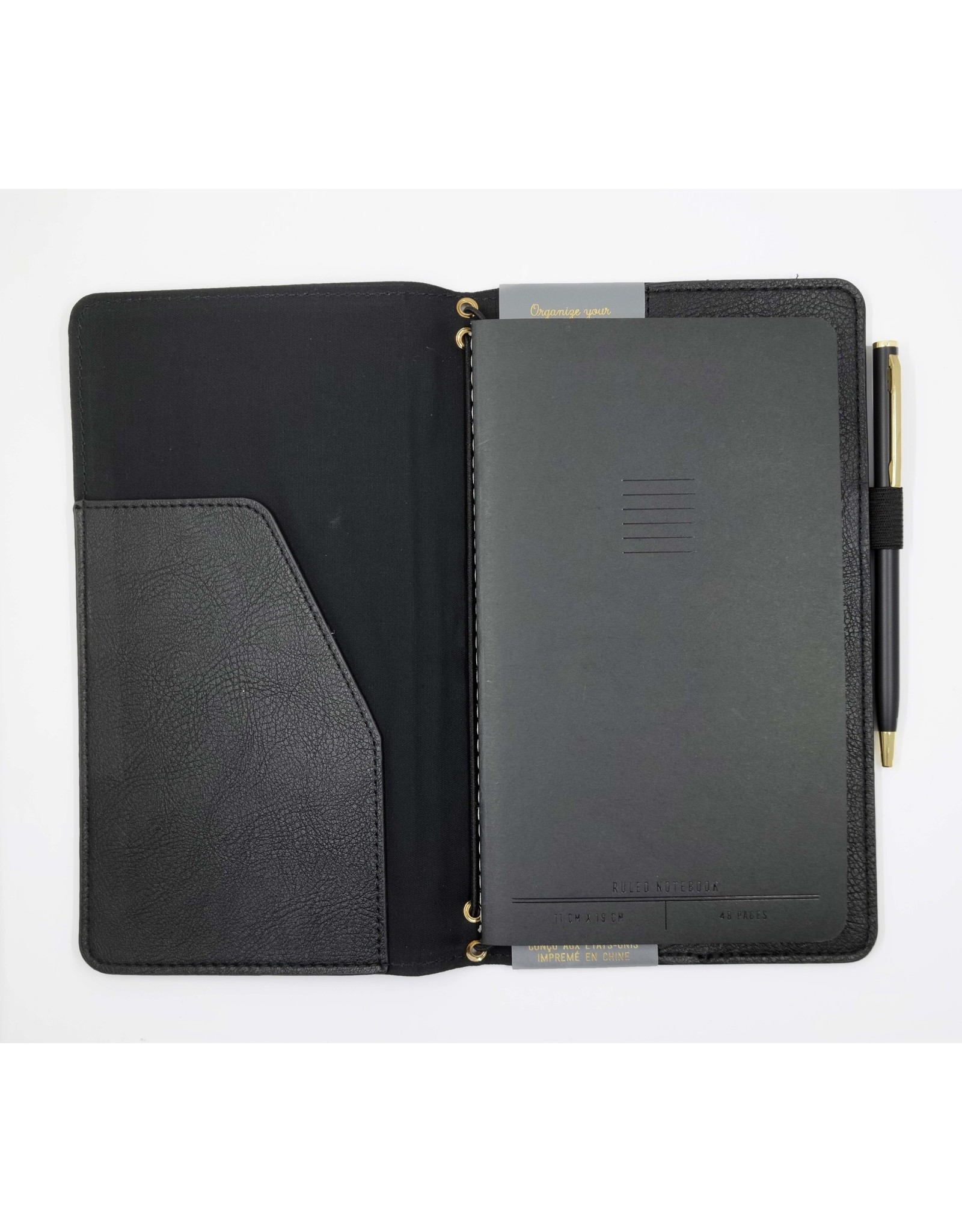 Vegan Leather Folio Kit