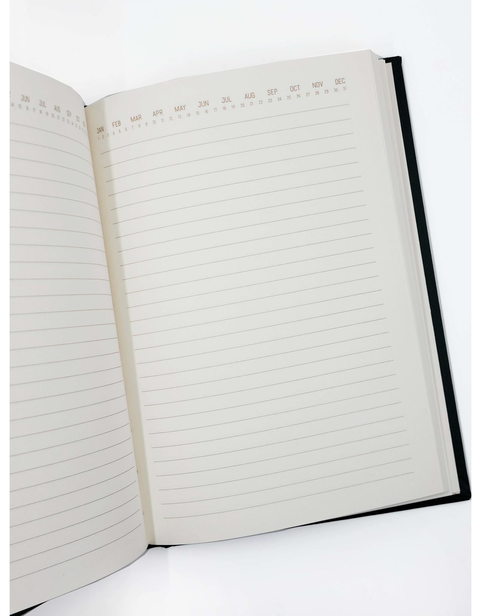 Dark Green Acute Notebook