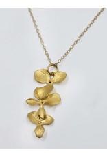Sosie Designs Jewelry Sosie Gold Orchid Cascade Necklace